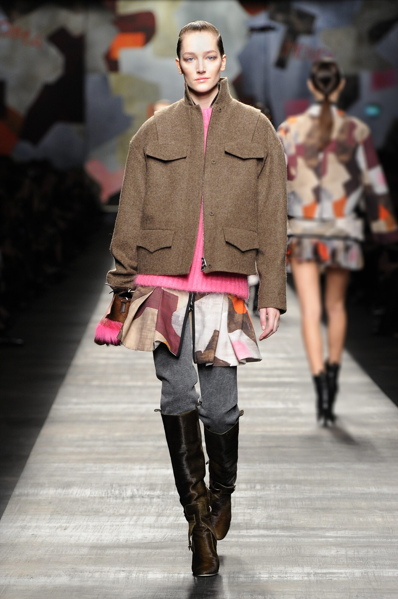 Runway Fendi Fashion Show Winter 2014