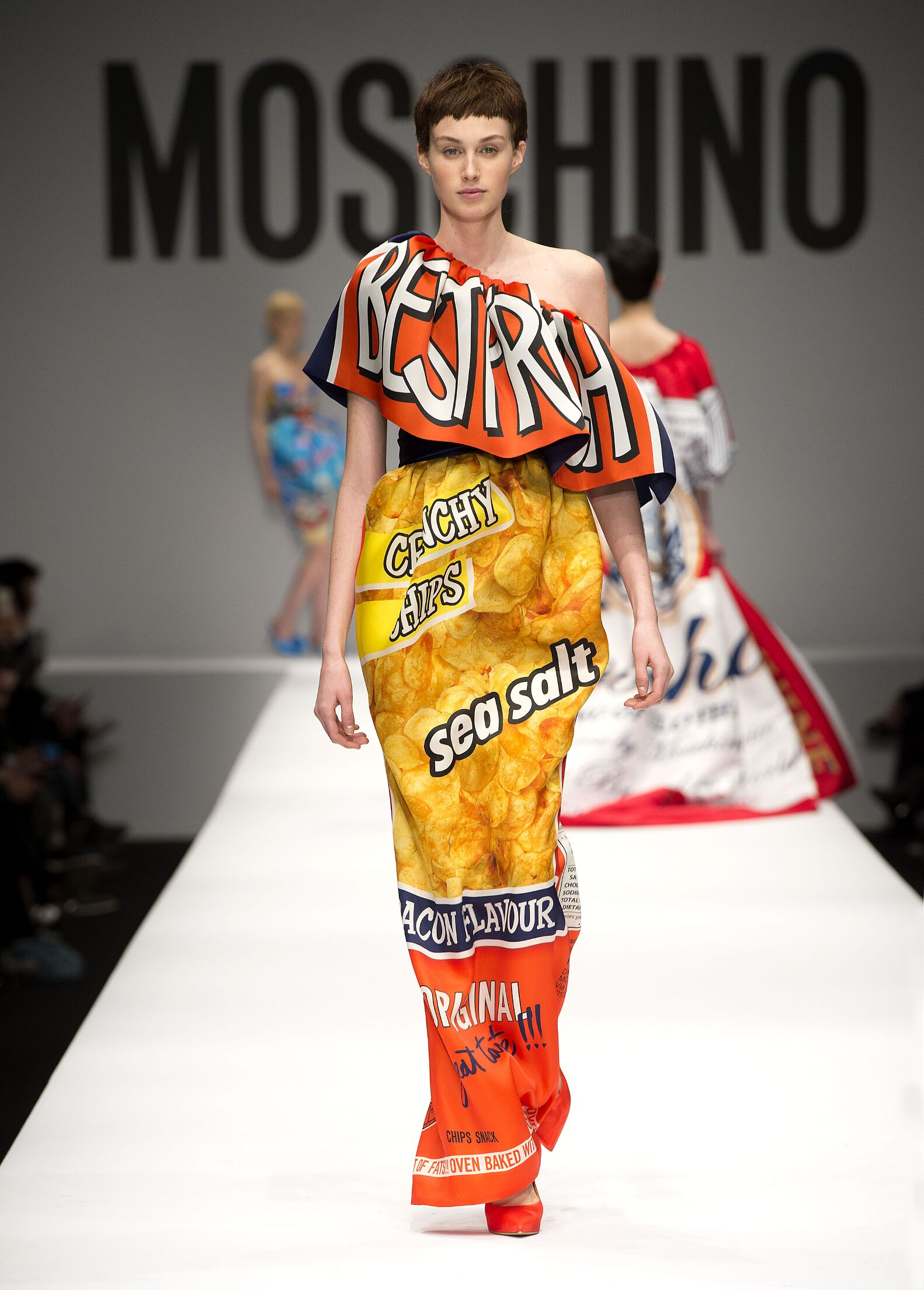 Runway Moschino Fashion Show Winter 2014