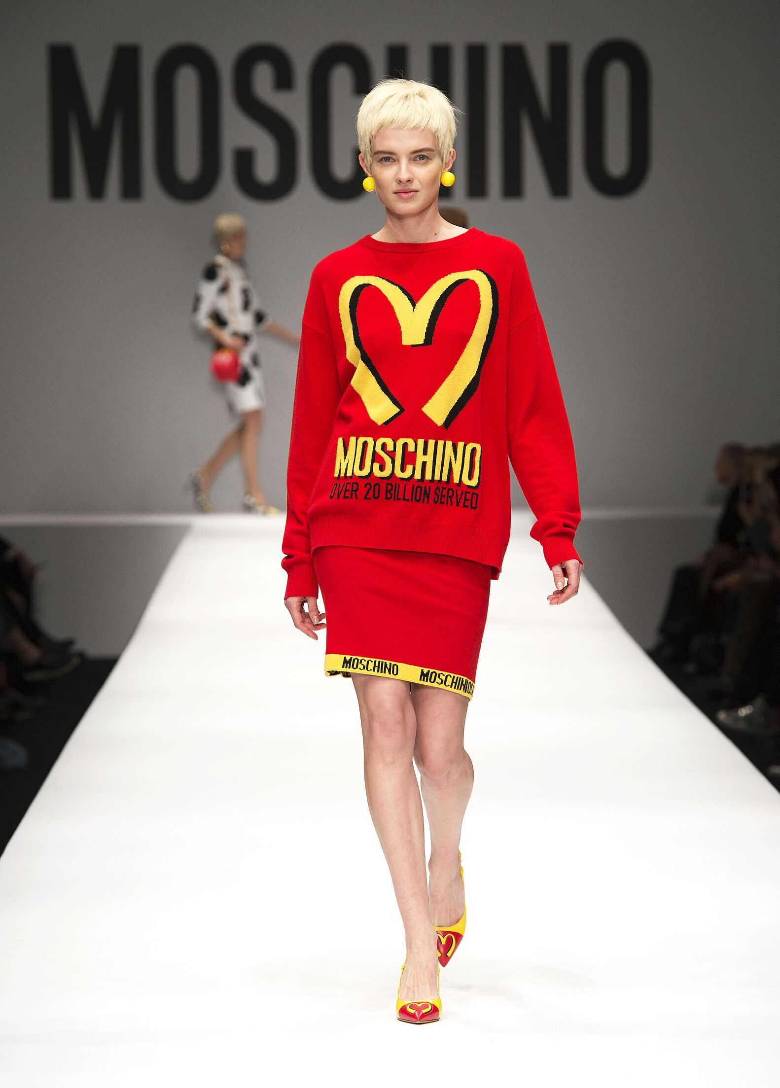 Winter 2014 Fashion Show Moschino