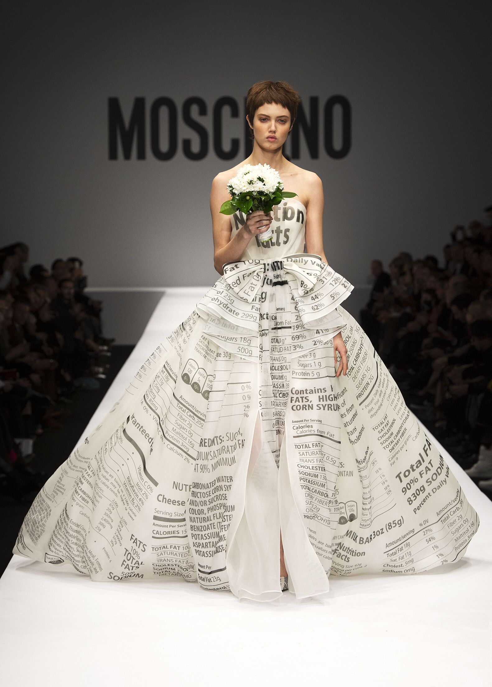 Winter Dress Moschino 2014 Woman