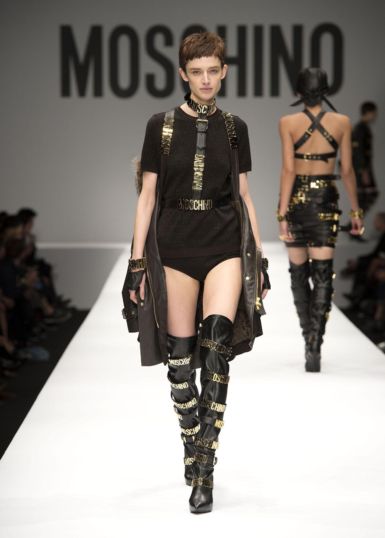 Winter Fashion Trends 2014 2015 Moschino
