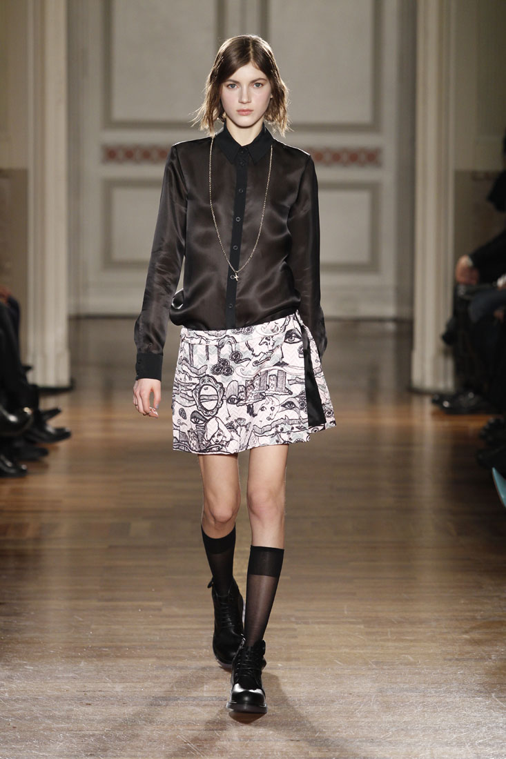 Fall Winter 2014 15 Fashion Women's Collection Frankie Morello