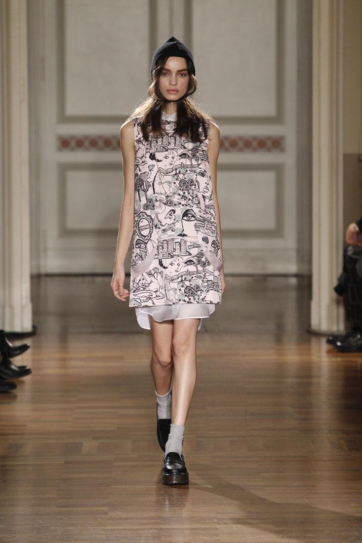 Frankie Morello Woman Milano Fashion Week