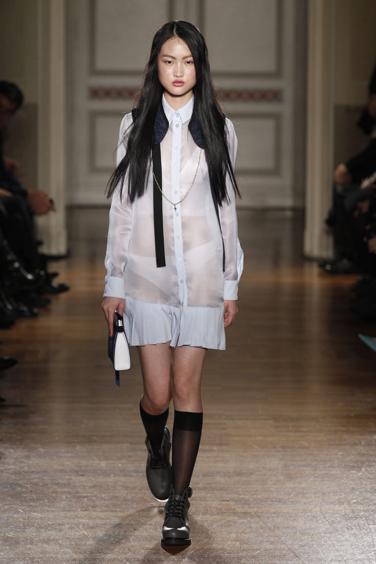 Runway Frankie Morello Fall Winter 2014 15 Women's Collection Milan Fashion Week
