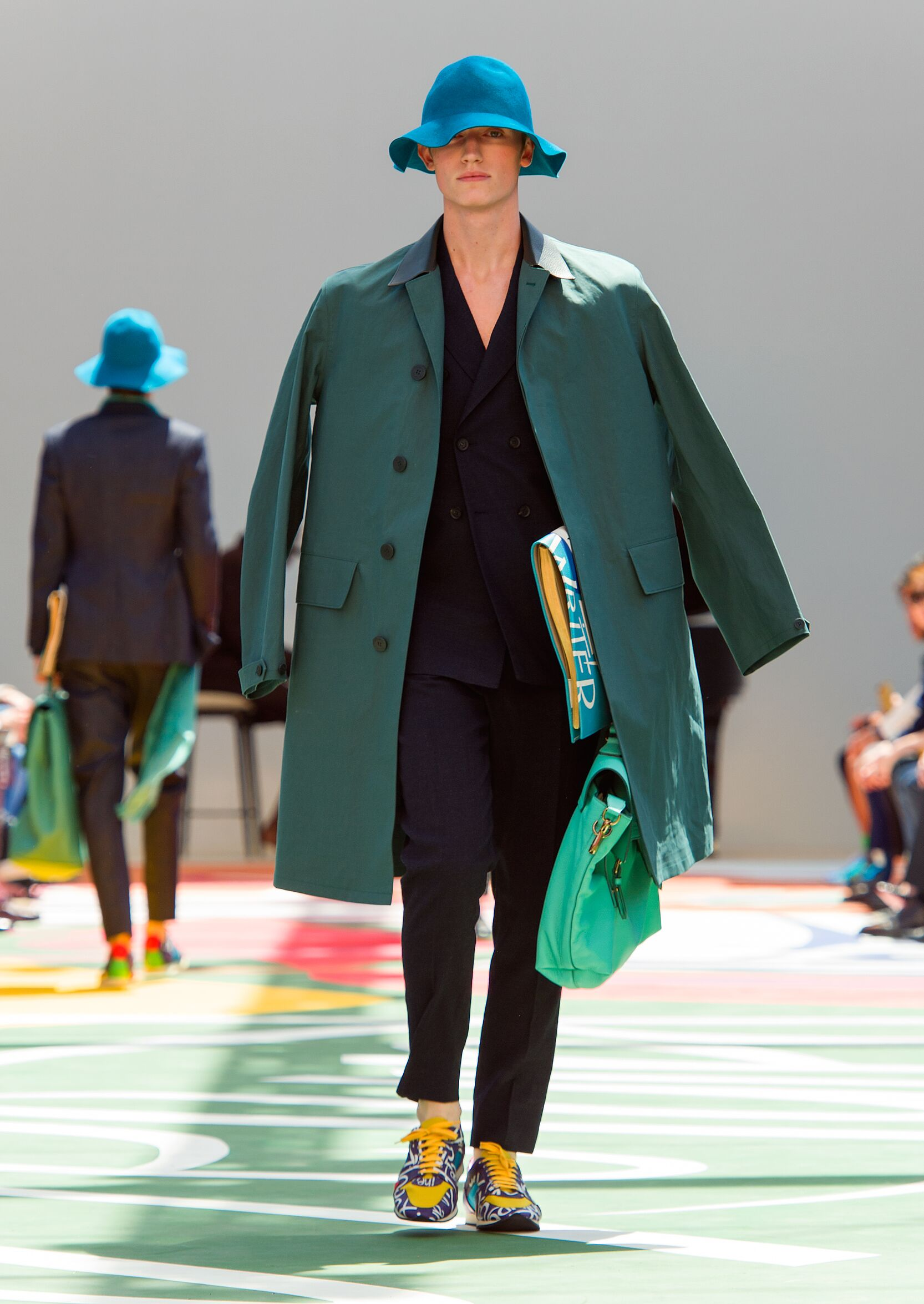 2015 Catwalk Burberry Prorsum Summer