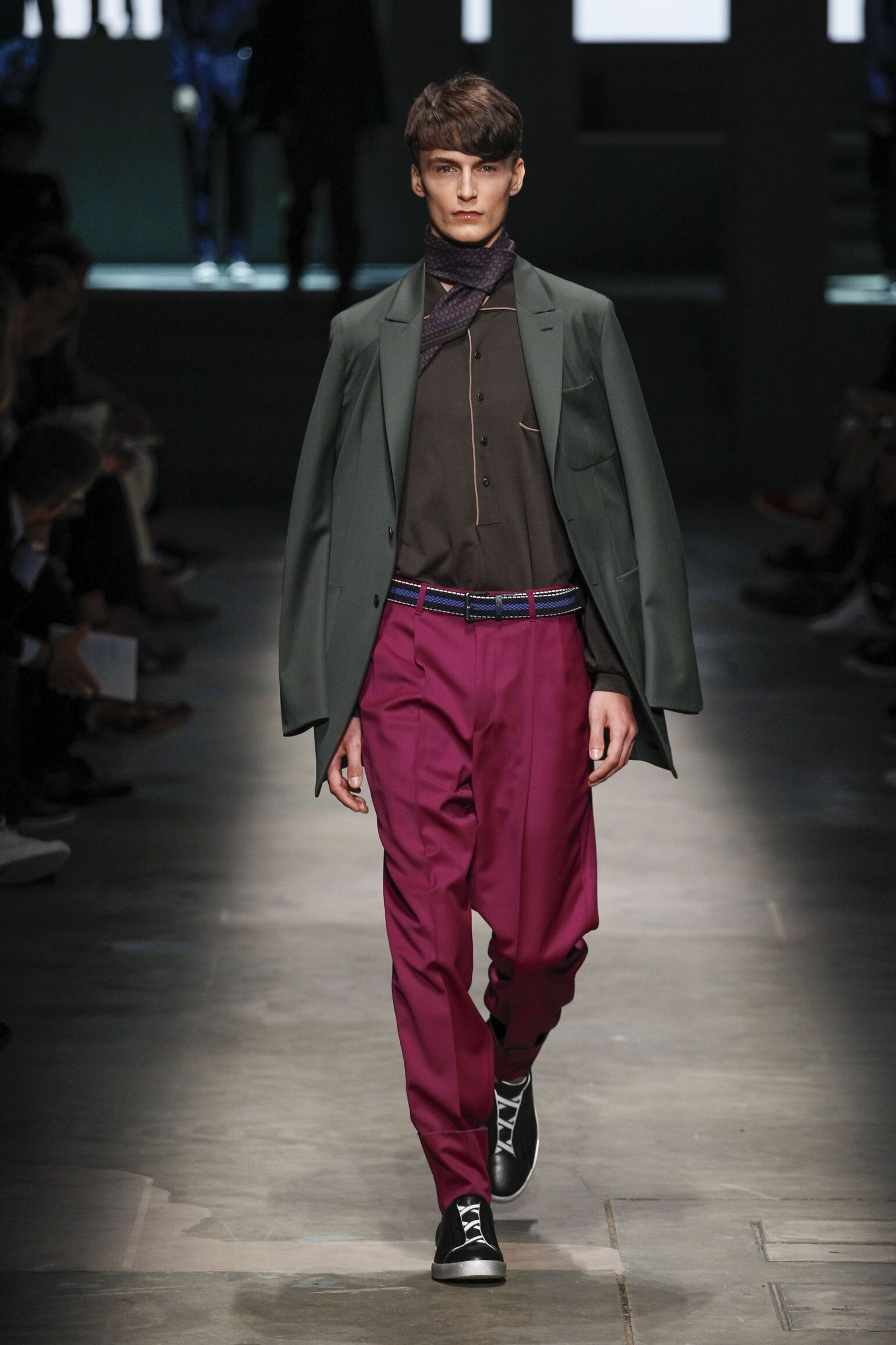 2015 Catwalk Ermenegildo Zegna Couture Man Fashion Show Summer