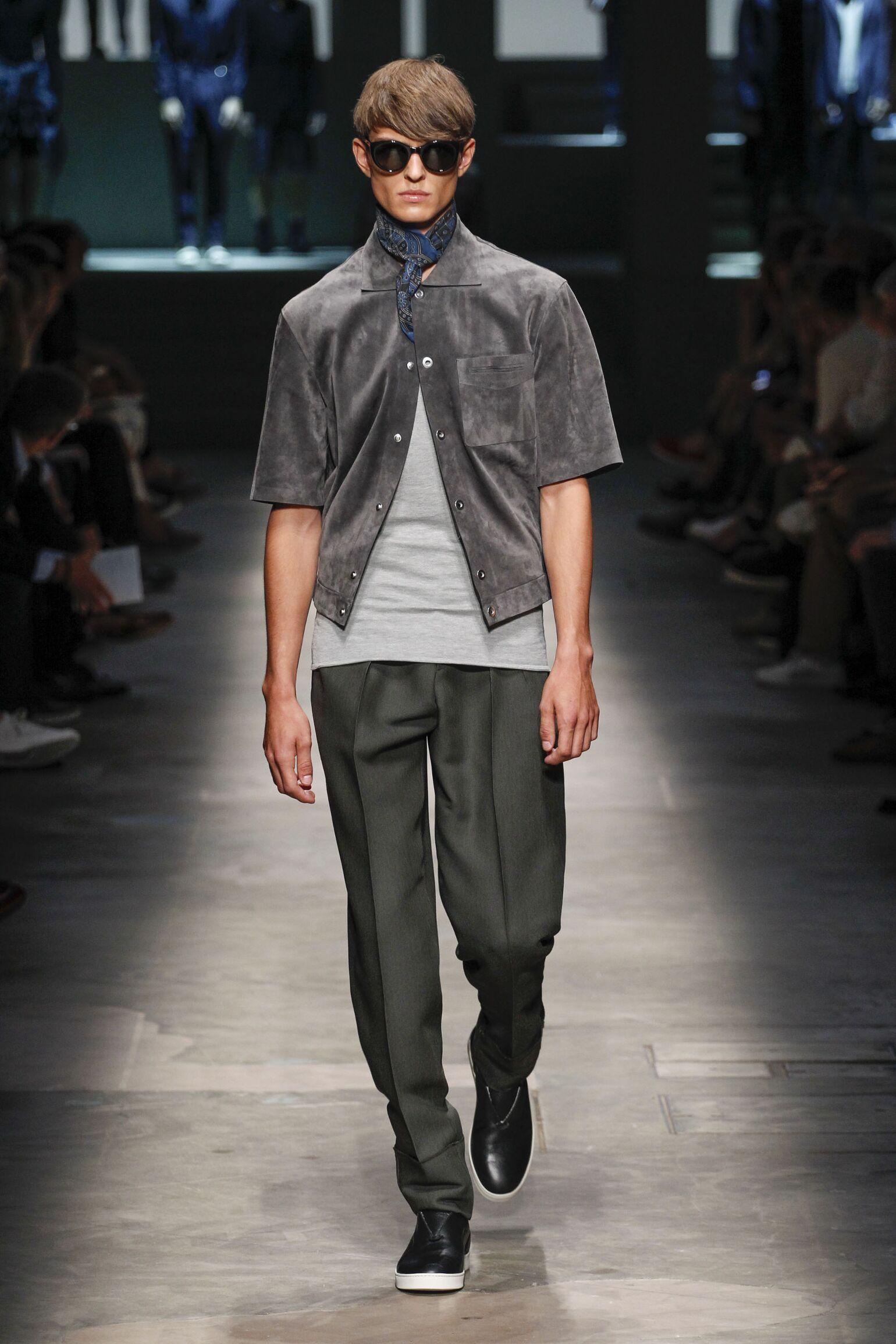 2015 Catwalk Ermenegildo Zegna Couture Summer