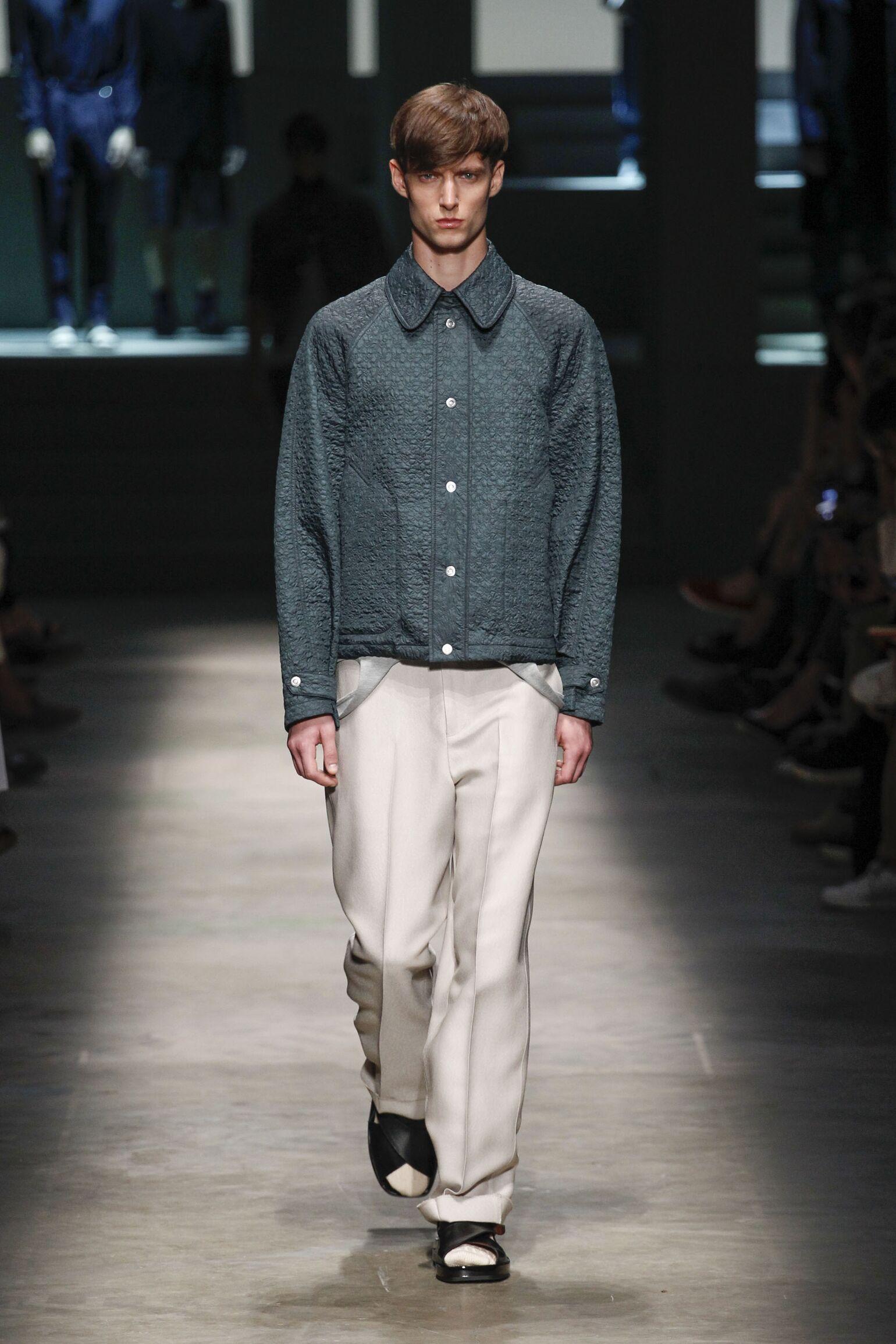 2015 Ermenegildo Zegna Couture Spring Catwalk