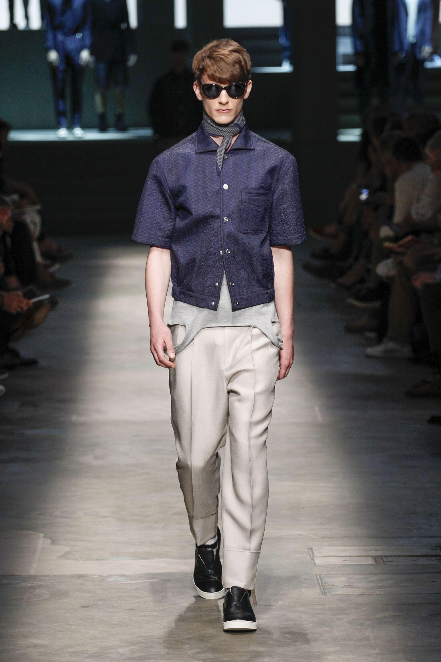 2015 Ermenegildo Zegna Couture Spring Summer