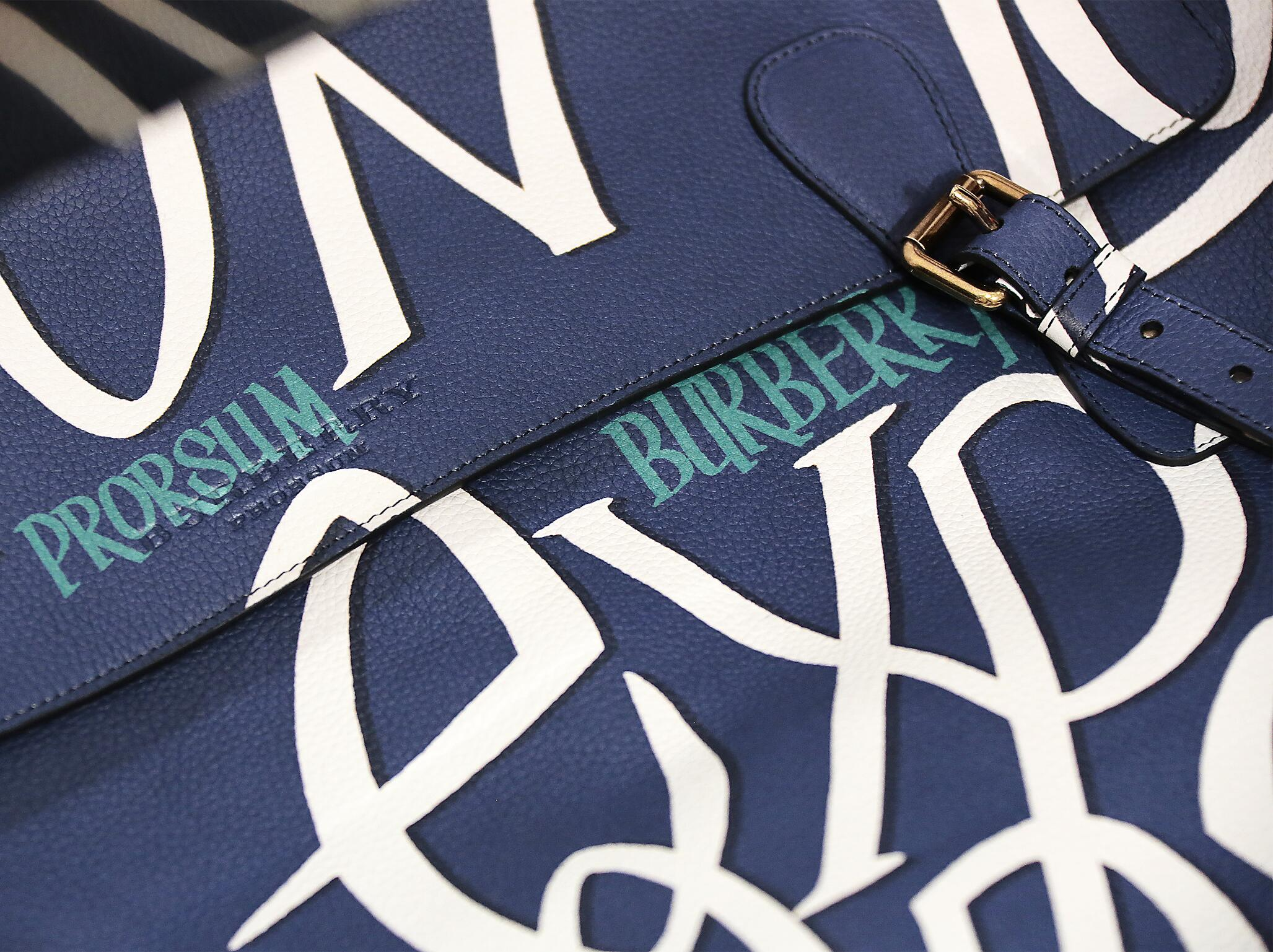 Backstage Burberry Prorsum Bag Details