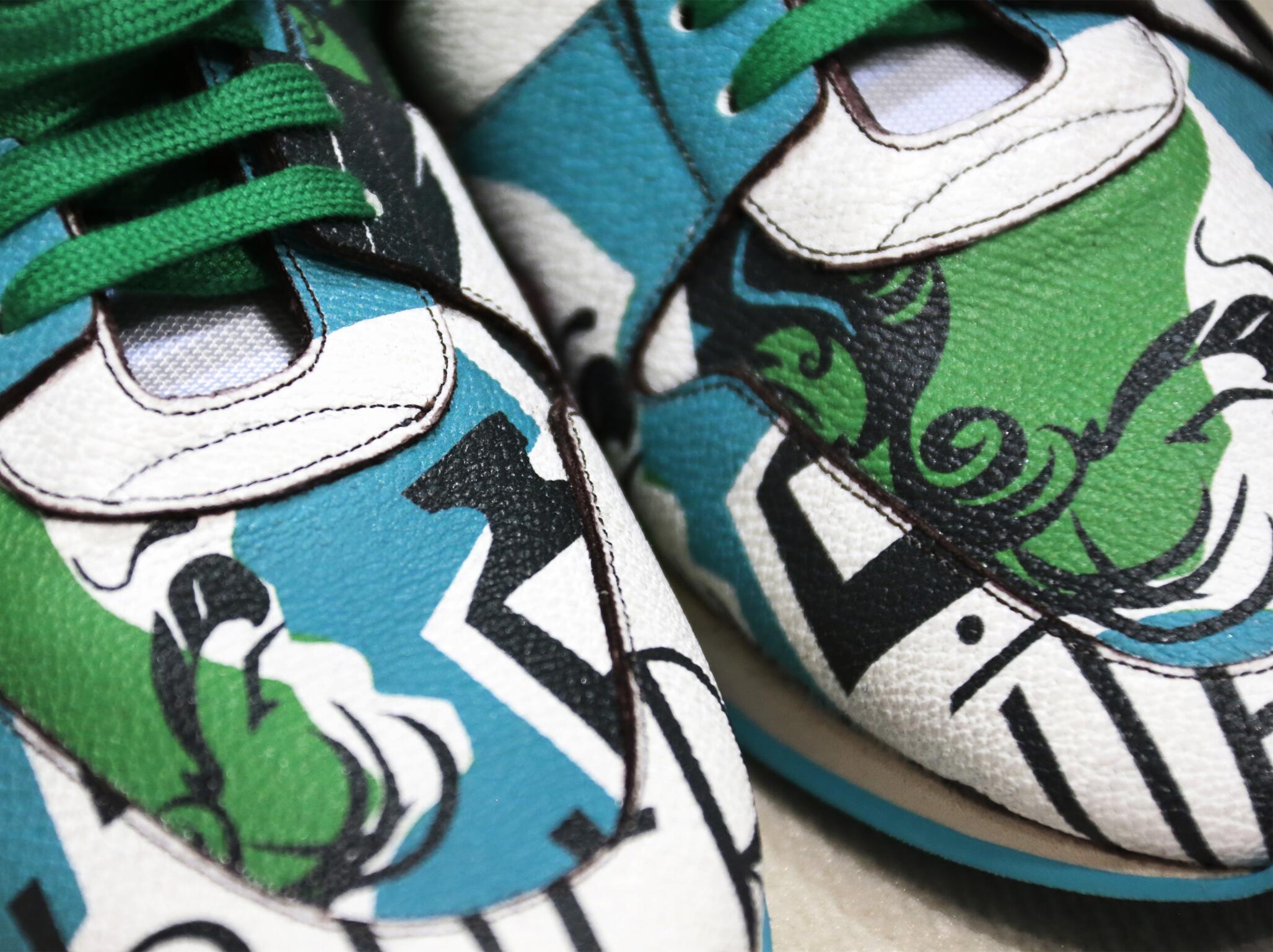 Backstage Burberry Prorsum Shoes Details