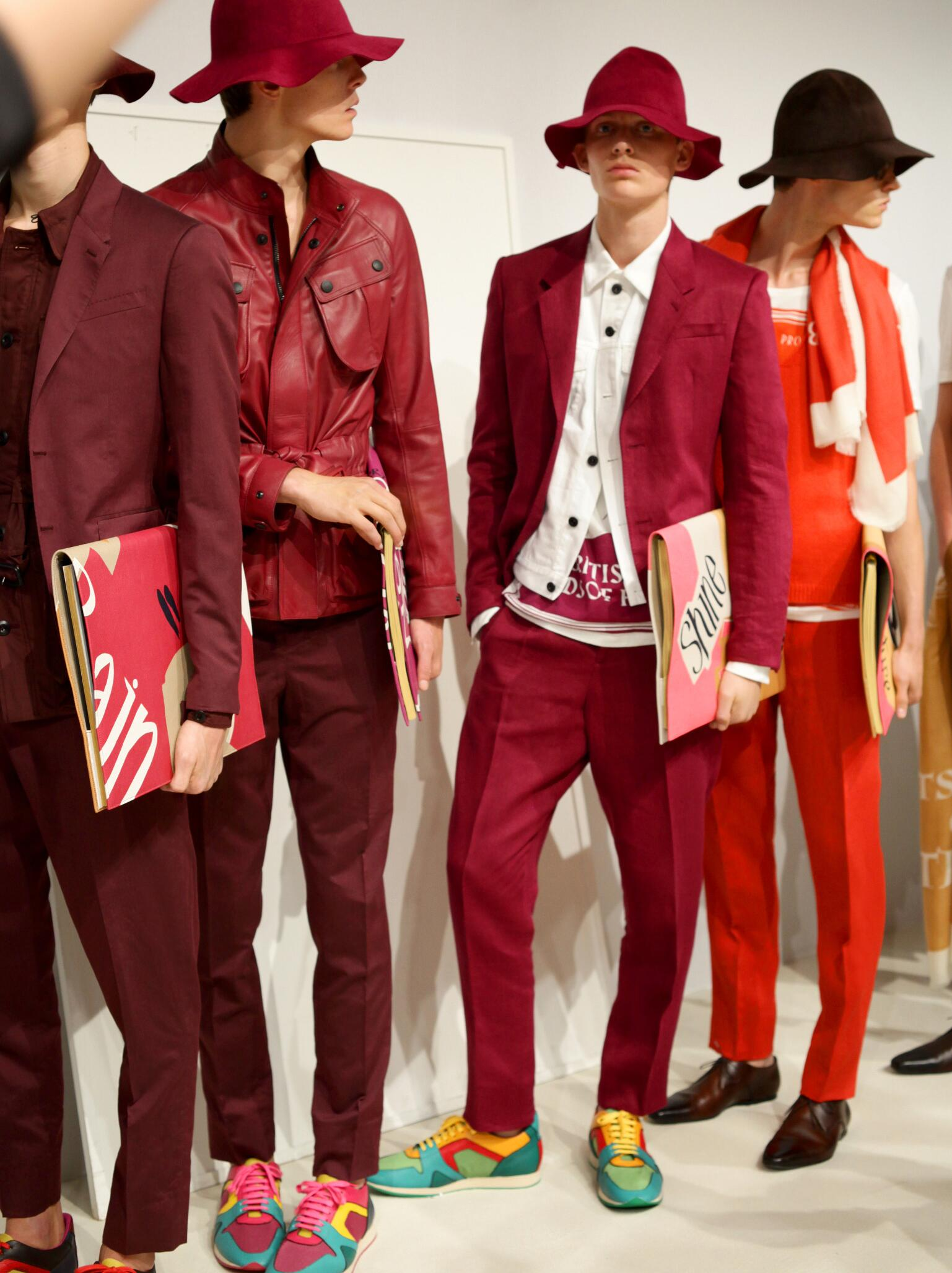 Backstage Burberry Prorsum