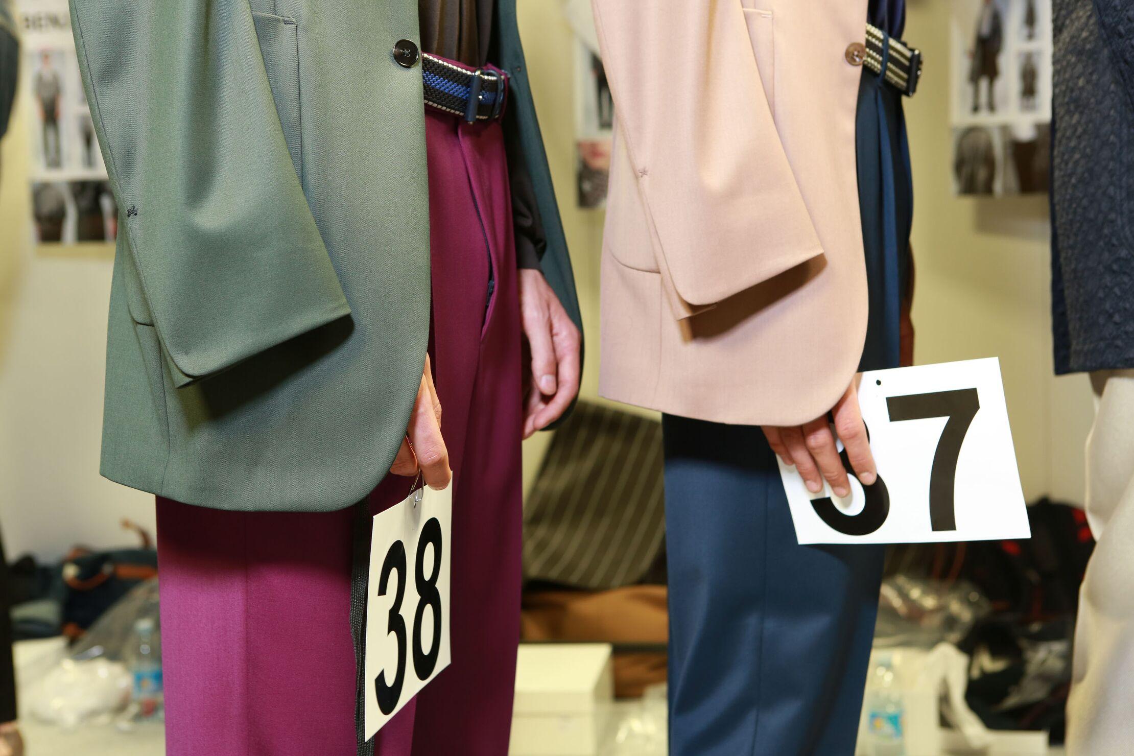 Backstage Ermenegildo Zegna Couture SS 2015 Details