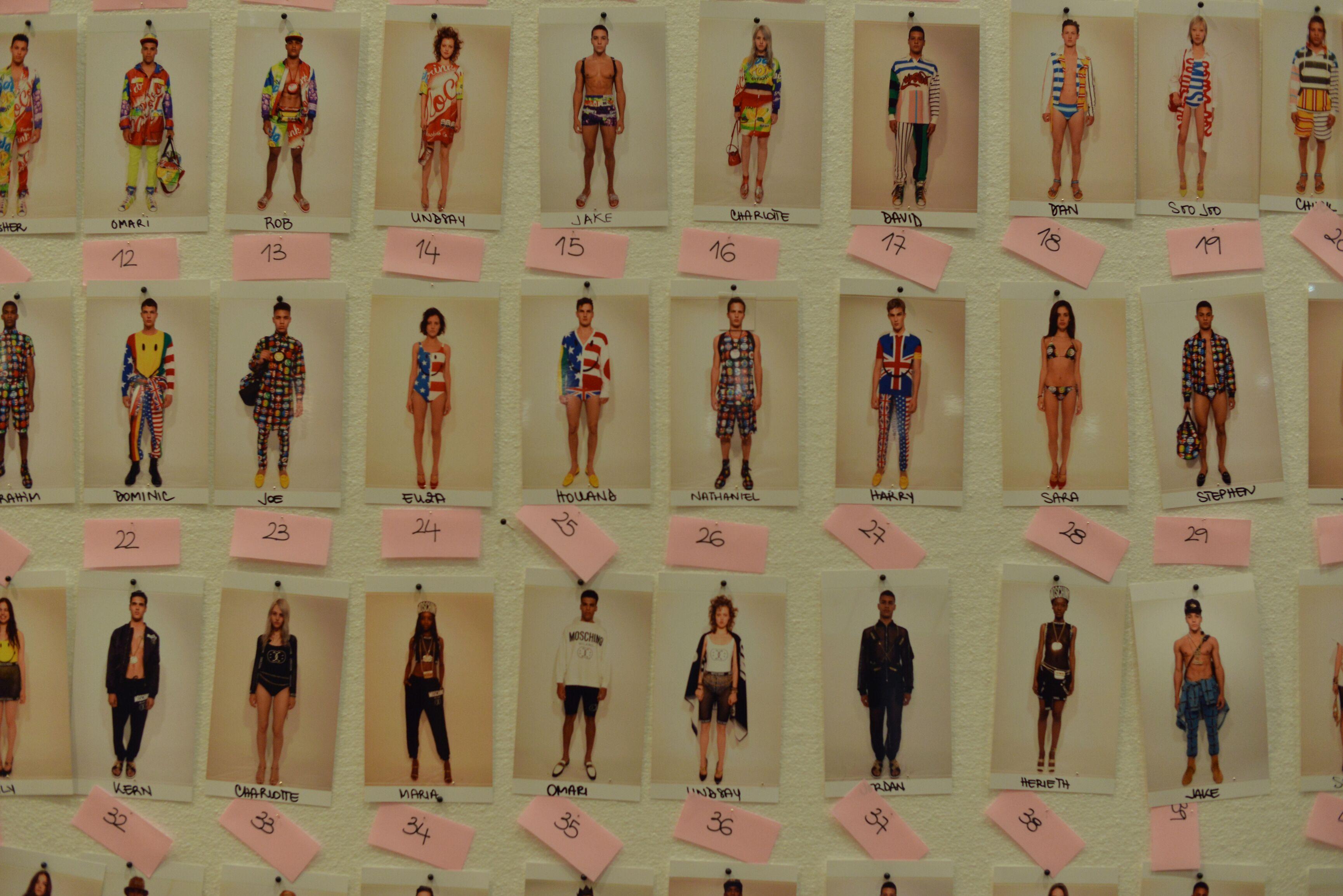 Backstage Moschino Spring Summer 2015 Menswear