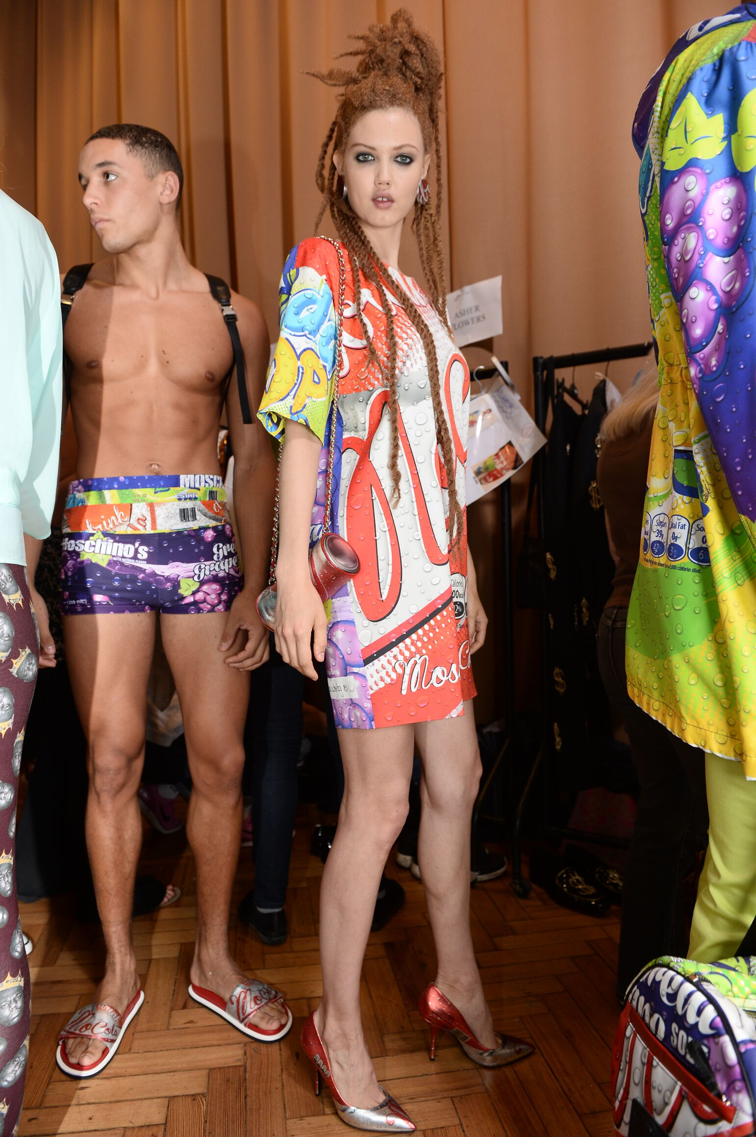 Backstage Moschino Woman Trends