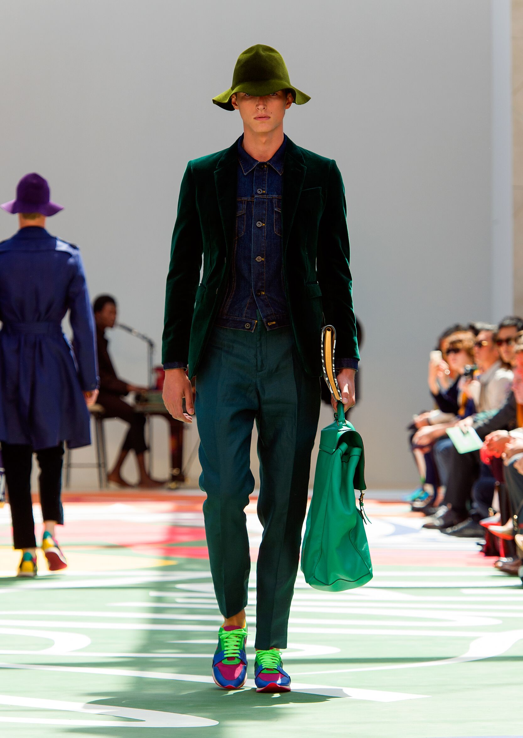 Burberry Prorsum Man 2015