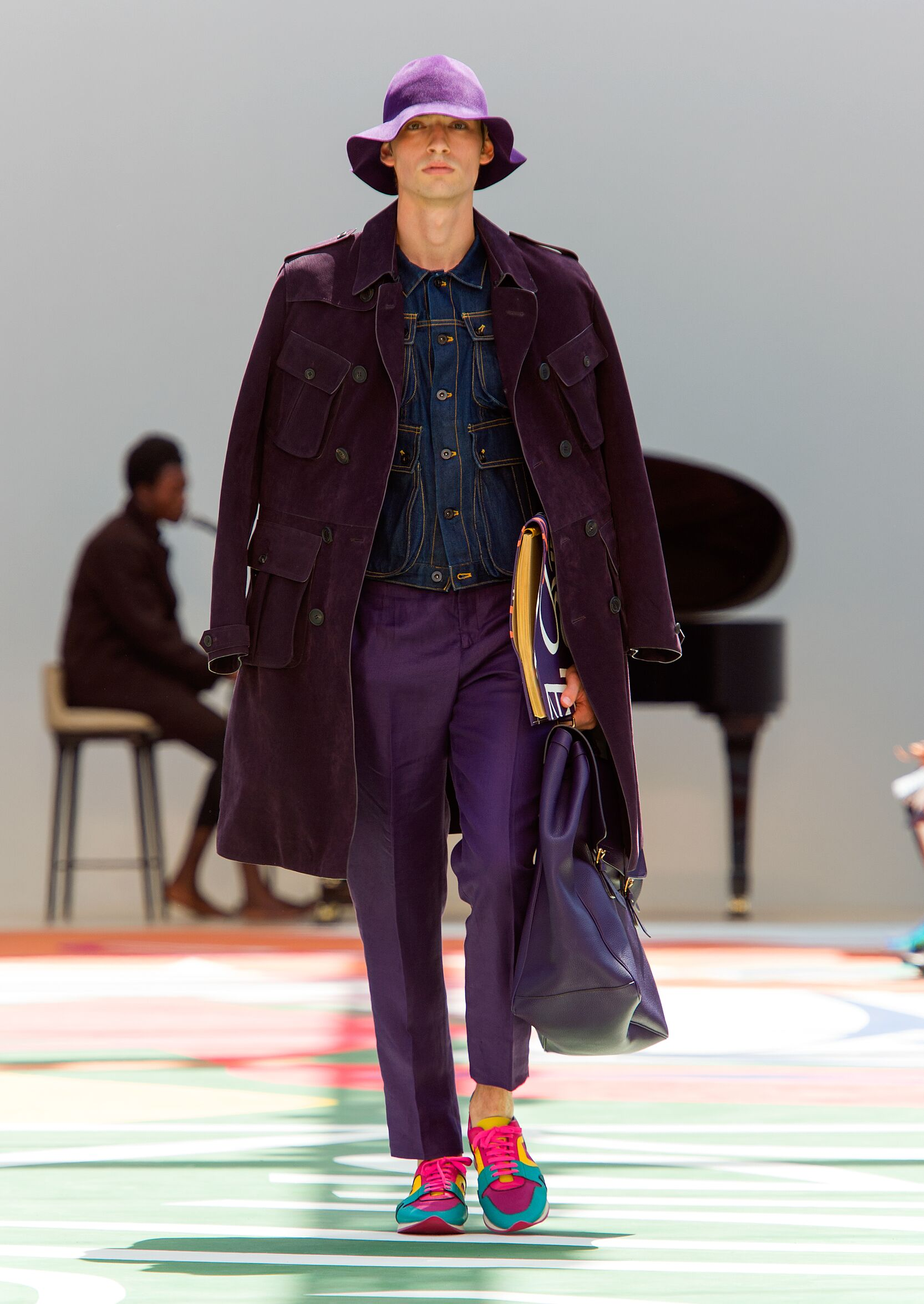 Burberry Prorsum Man London Fashion Week