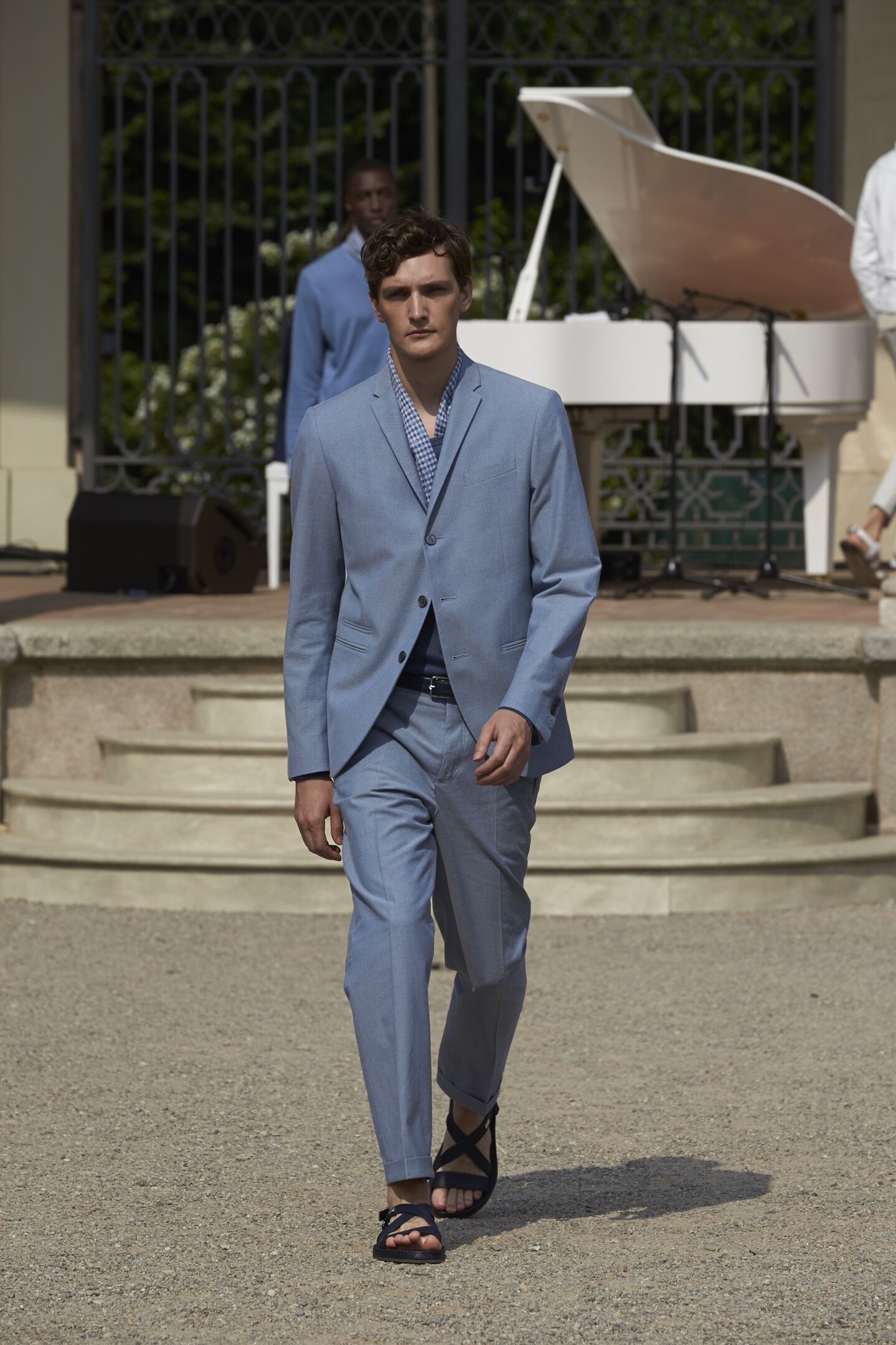 Catwalk Corneliani Summer 2015