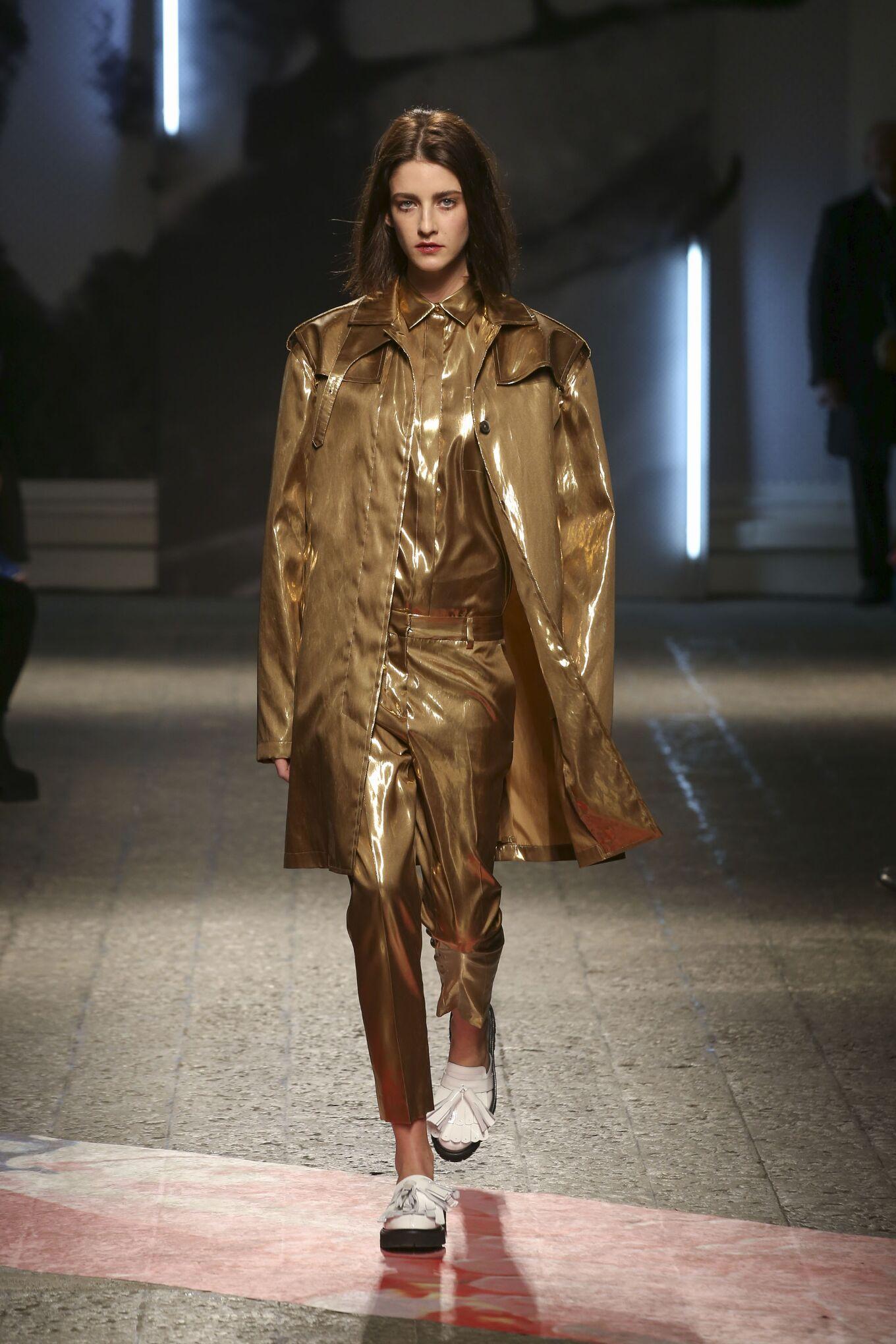 Catwalk Msgm Fall Winter 2014 15 Women Collection Milano Fashion Week