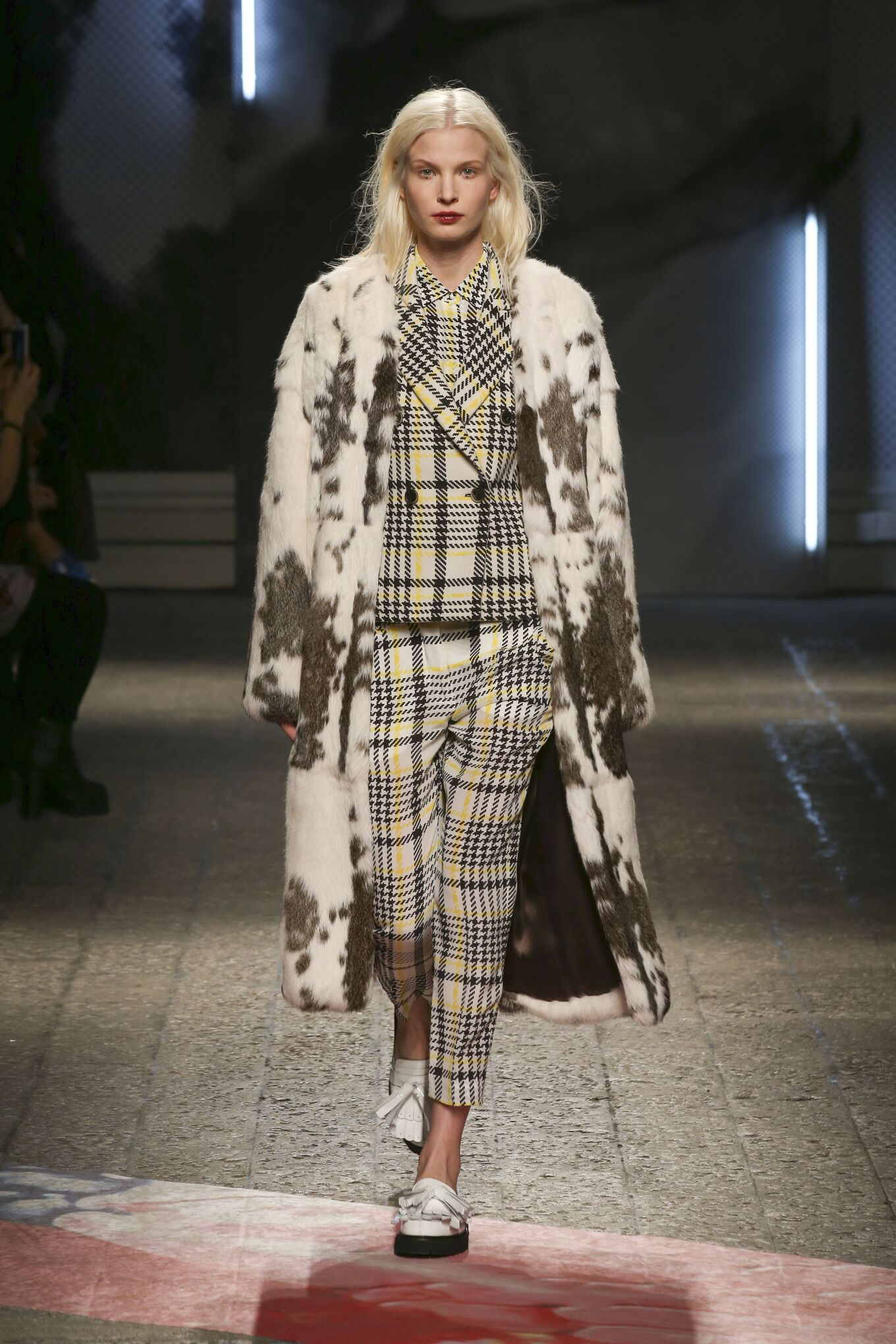 Catwalk Msgm Fashion Show Winter 2014