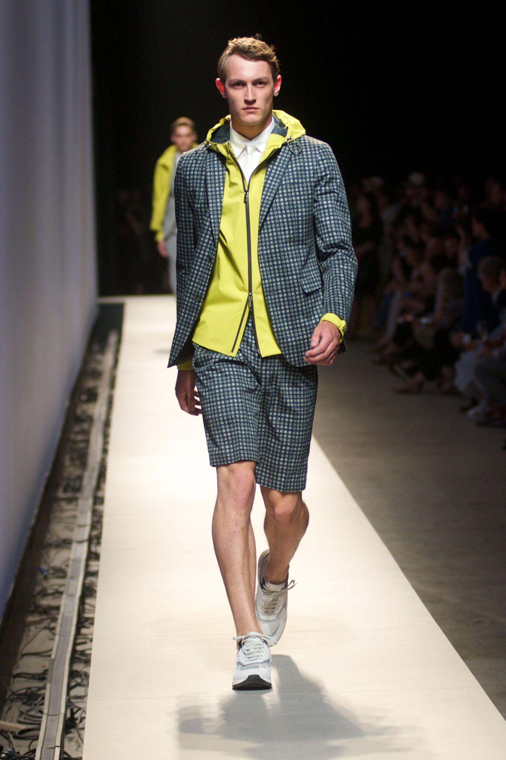 Catwalk Z Zegna Man Fashion Show Summer 2015