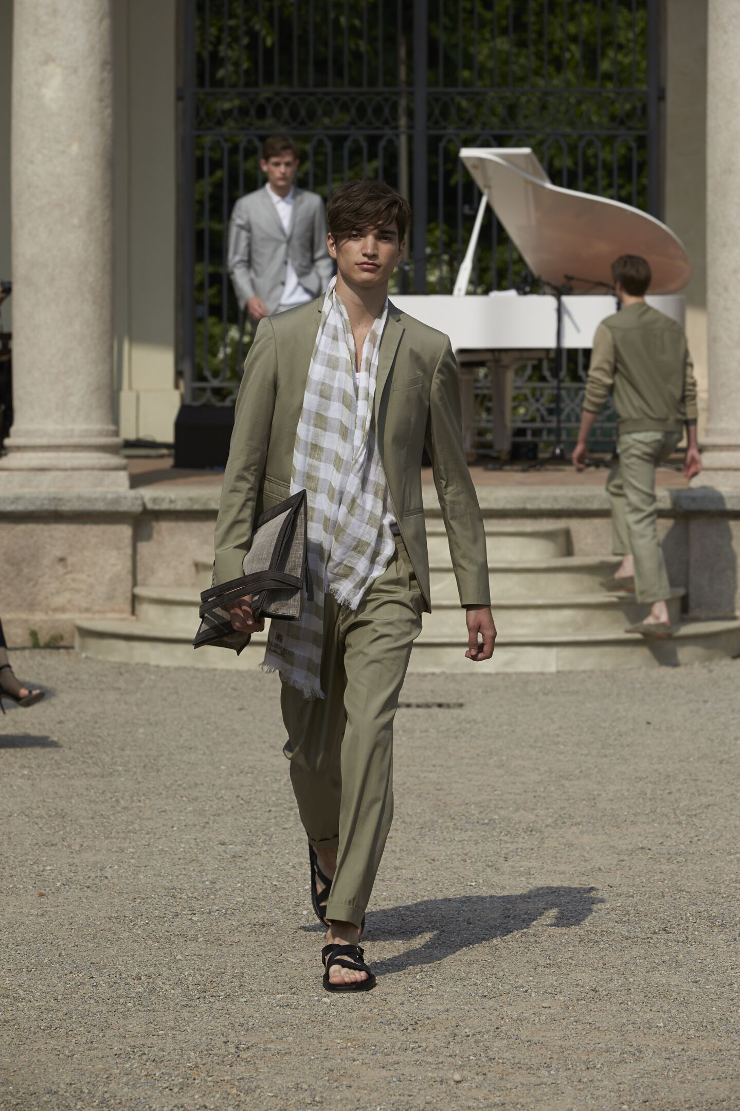 Corneliani Milan Fashion Week Menswear