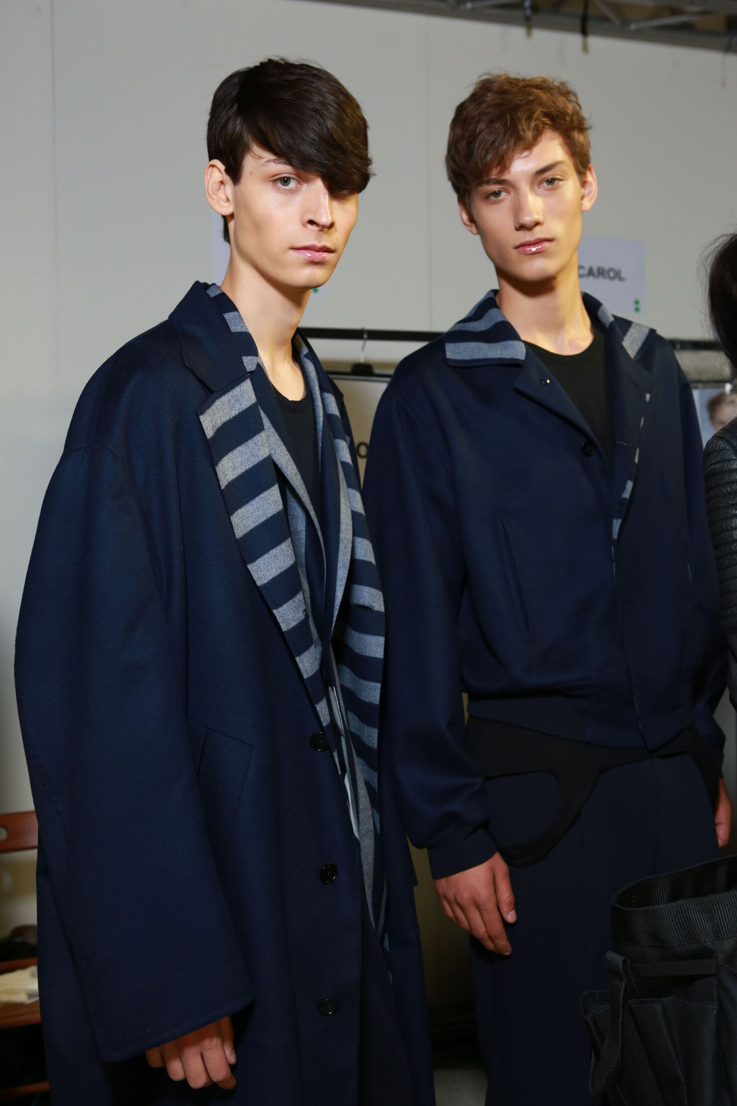 Ermenegildo Zegna Couture Backstage Models Men