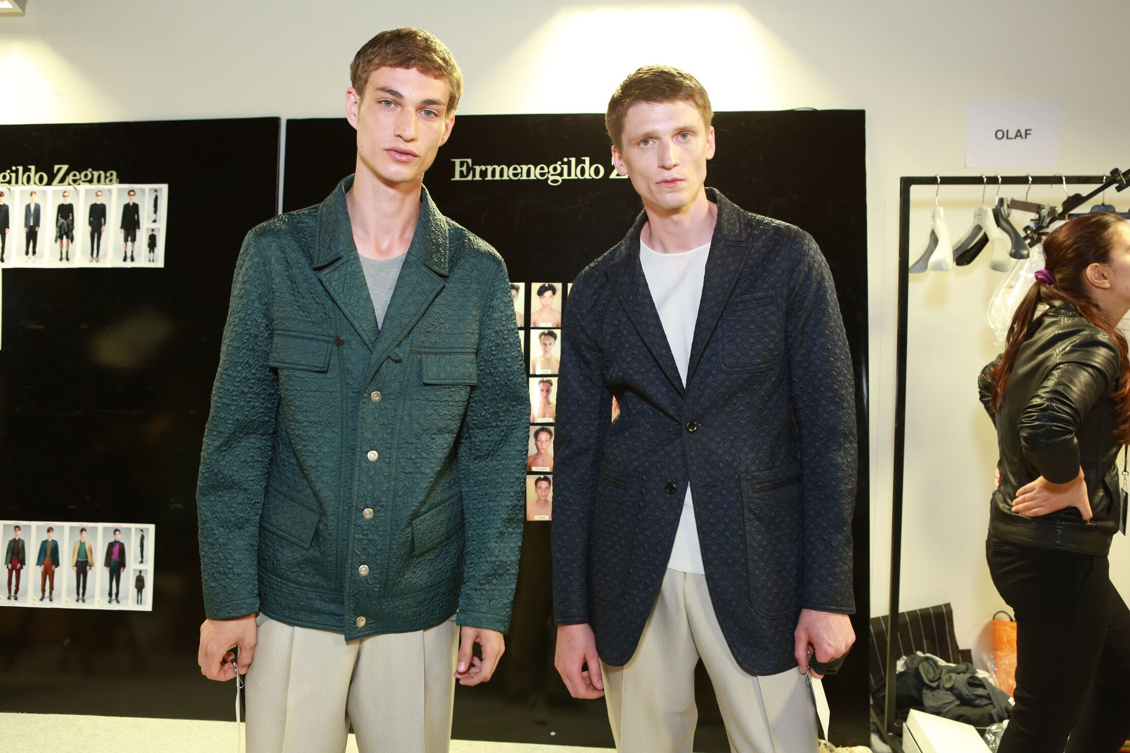 Ermenegildo Zegna Couture Fashion Backstage SS 2015