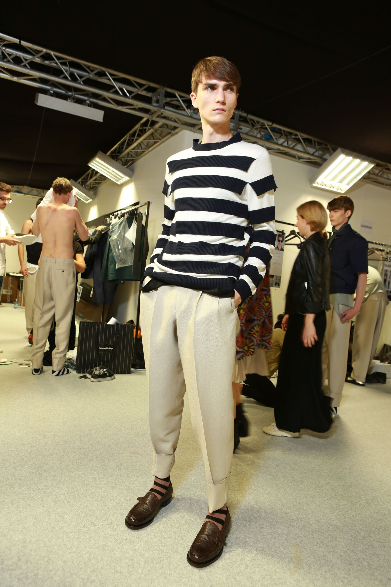 Ermenegildo Zegna Couture Man Model
