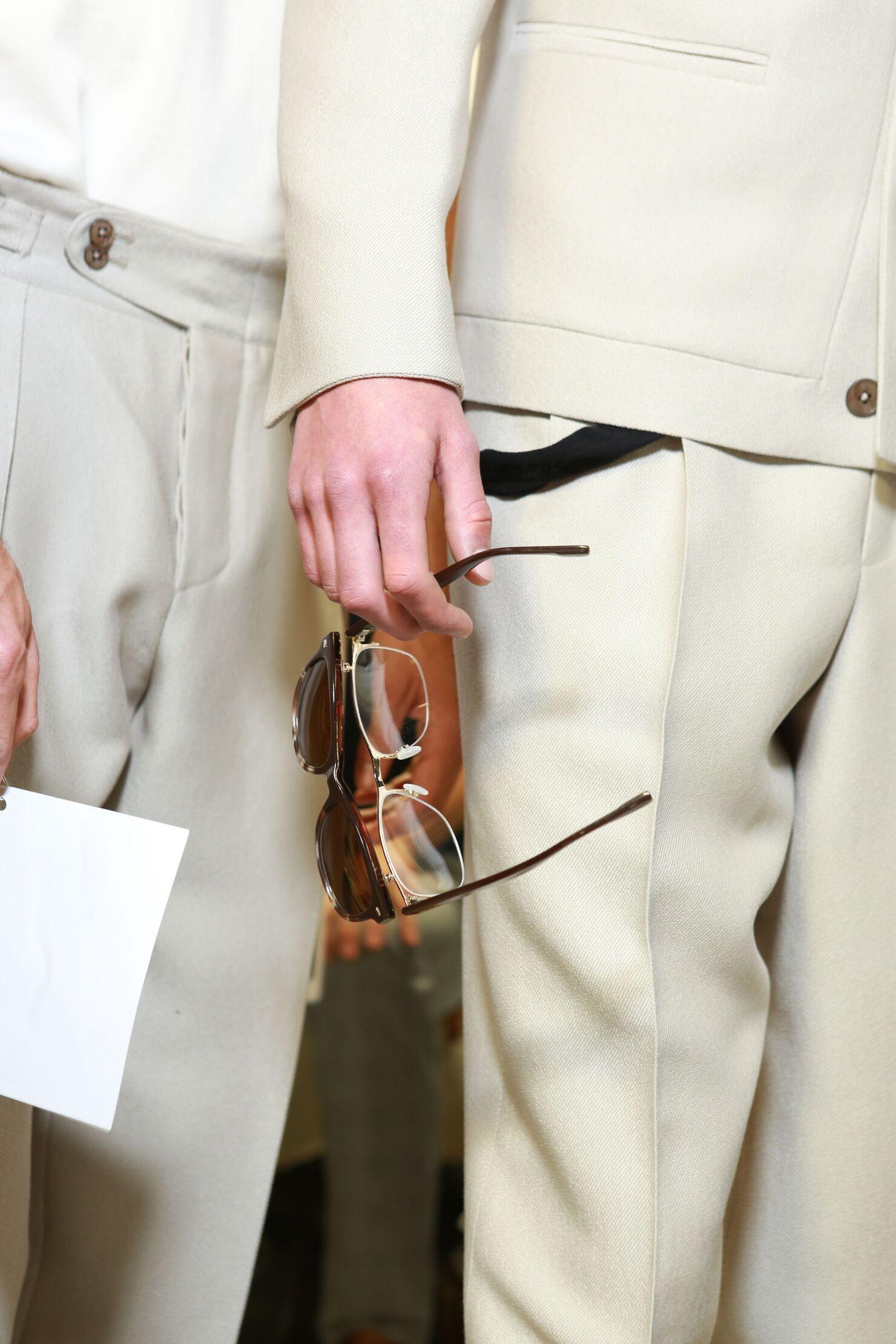 Ermenegildo Zegna Couture SS 2015 Menswear Backstage Detail