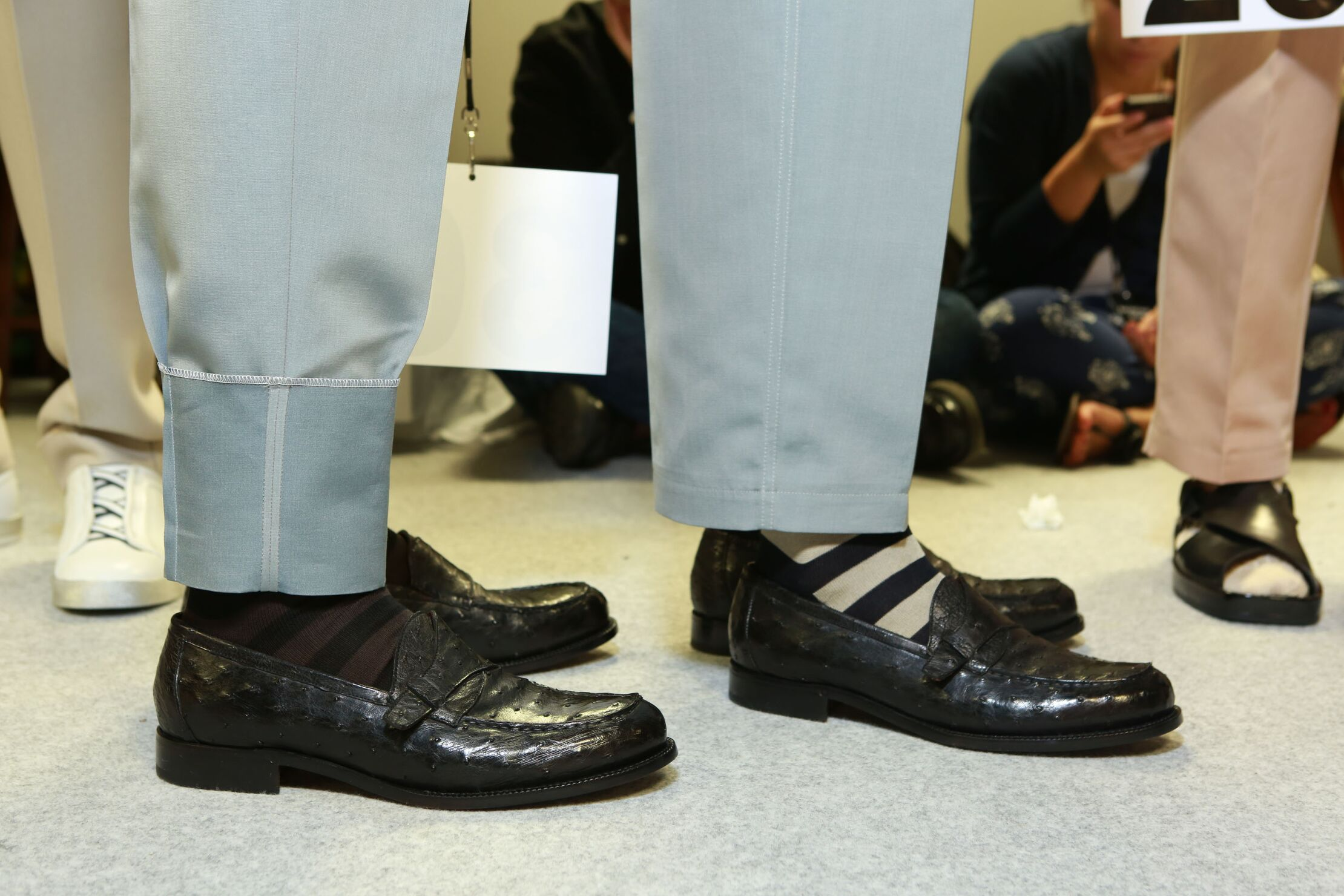 Ermenegildo Zegna Couture SS 2015 Shoes