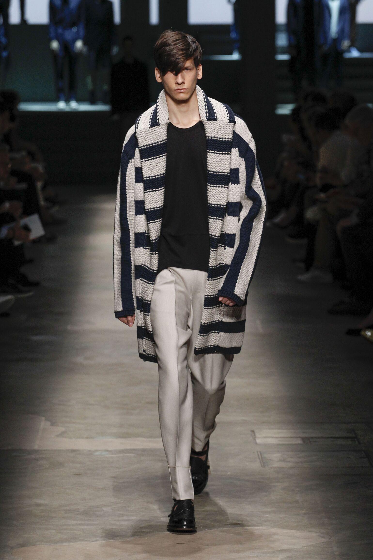 Ermenegildo Zegna Couture Spring 2015 Catwalk
