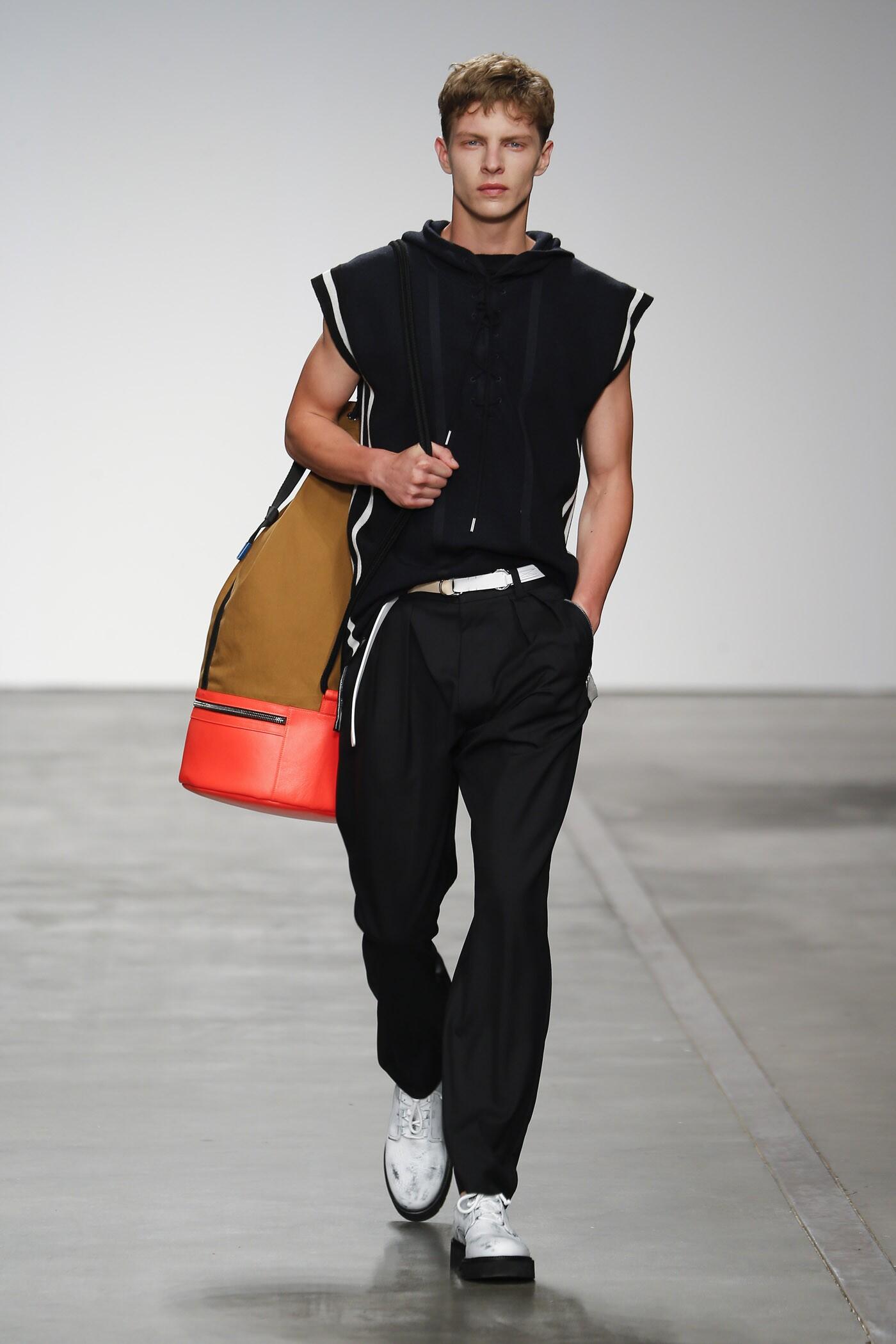 Fashion Man Model Iceberg Catwalk