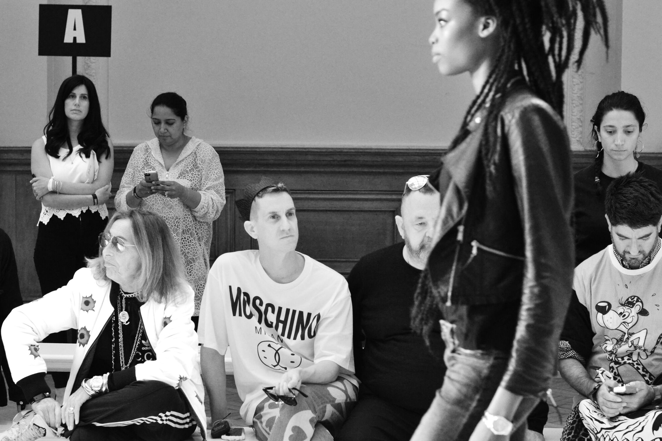 Jeremy Scott Backstage Moschino SS 2015