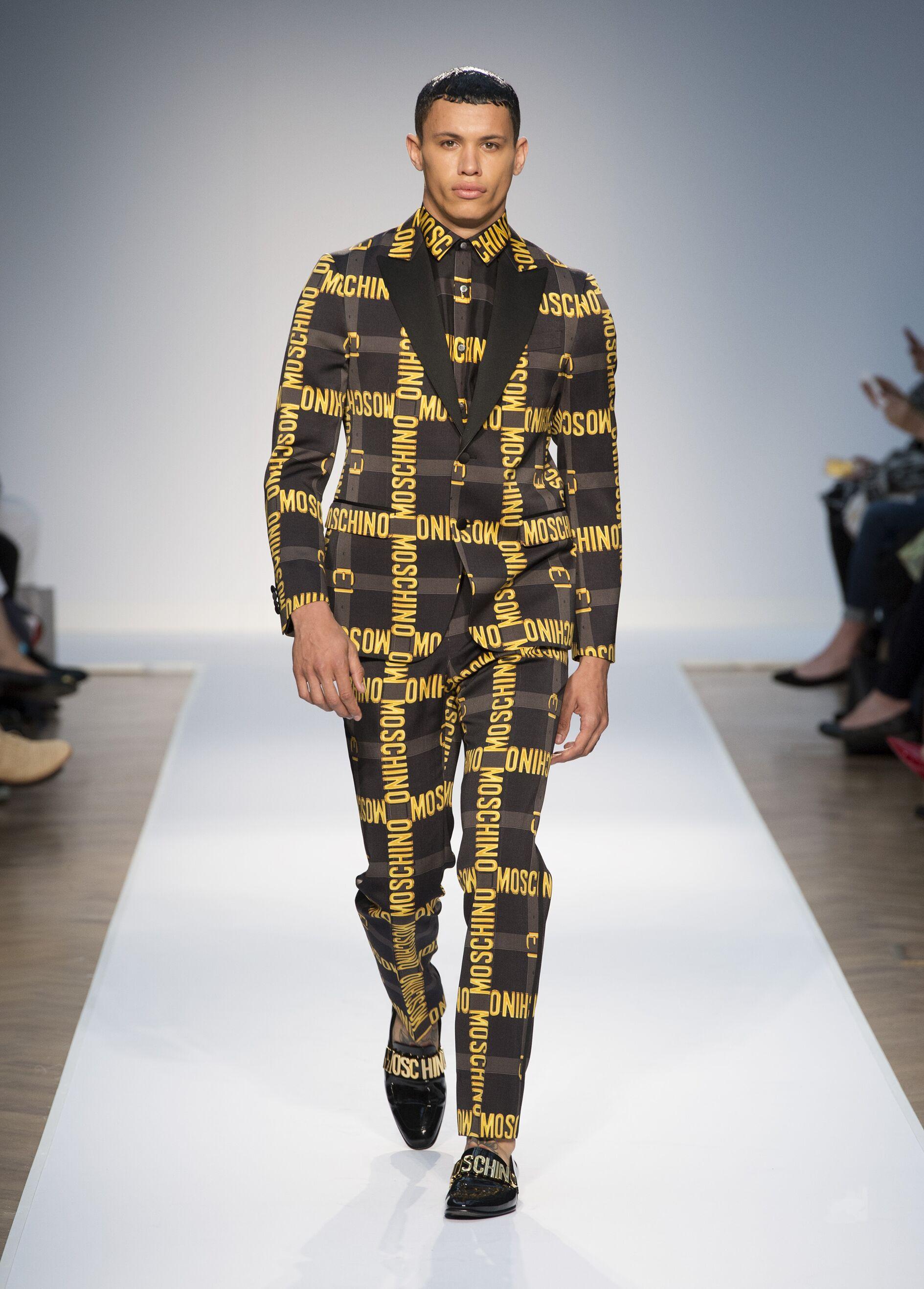 Jeremy Scott Moschino Man Fashion Show Summer 2015
