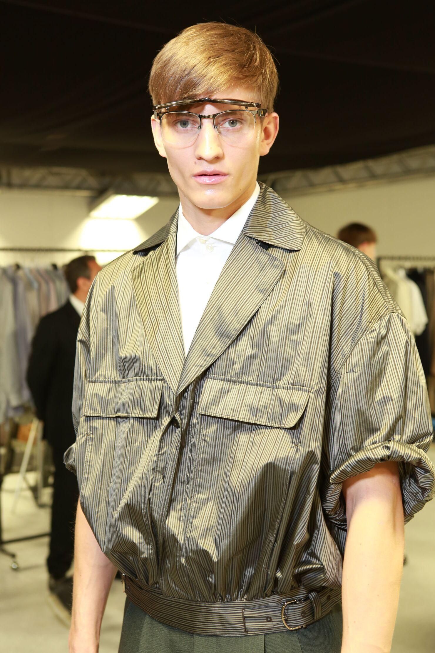 Man Style Backstage Ermenegildo Zegna Couture