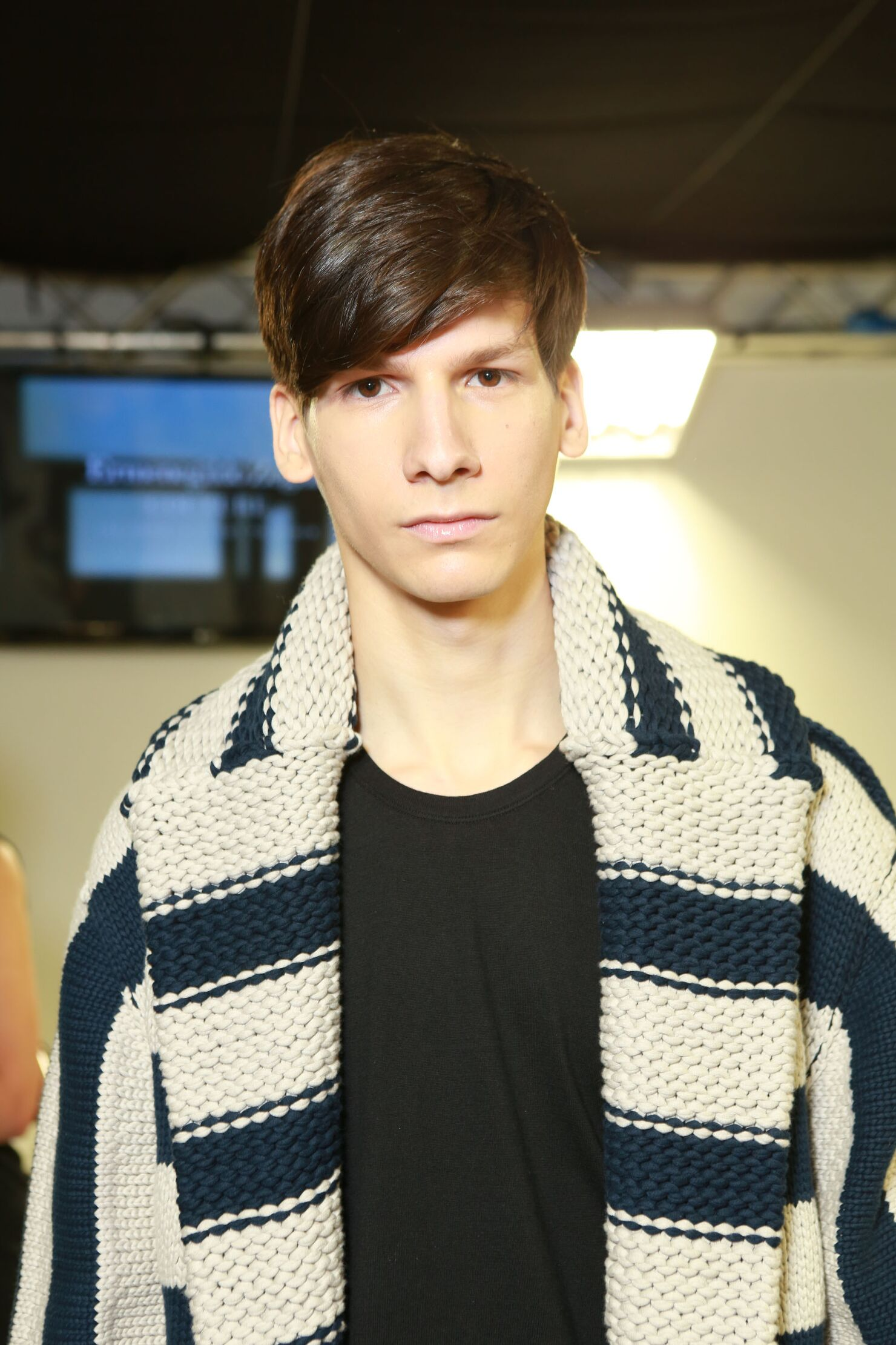 Man Trends 2014 Backstage Ermenegildo Zegna Couture