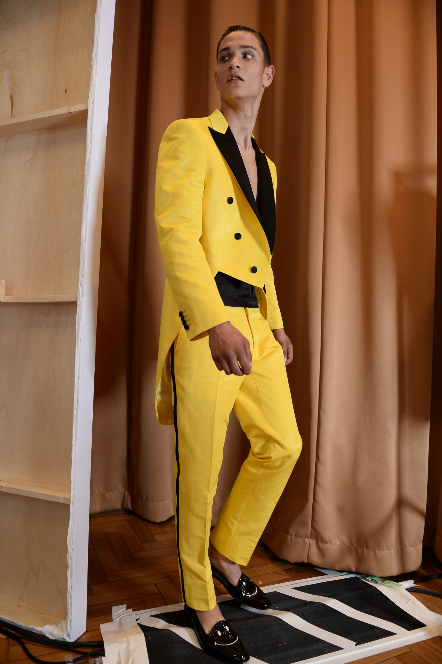 Man Trends 2014 Backstage Moschino