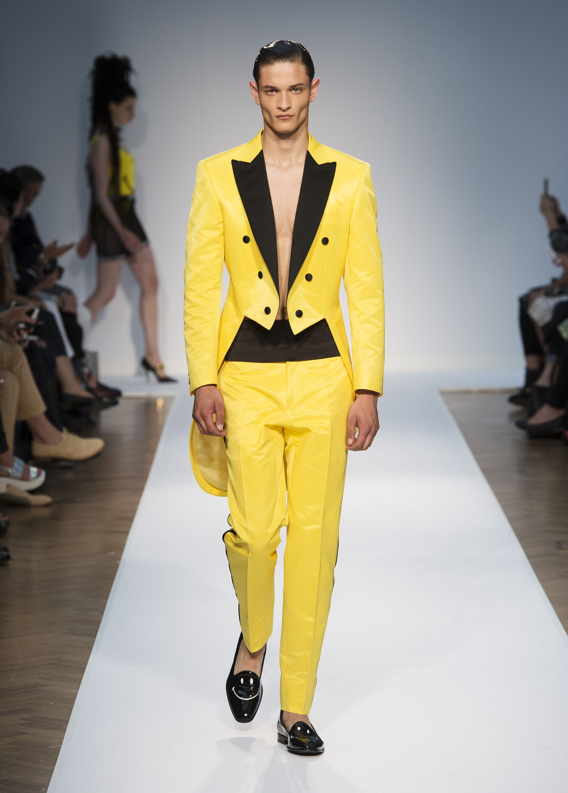 Moschino Spring Summer 2015 Men S Collection The Skinny Beep