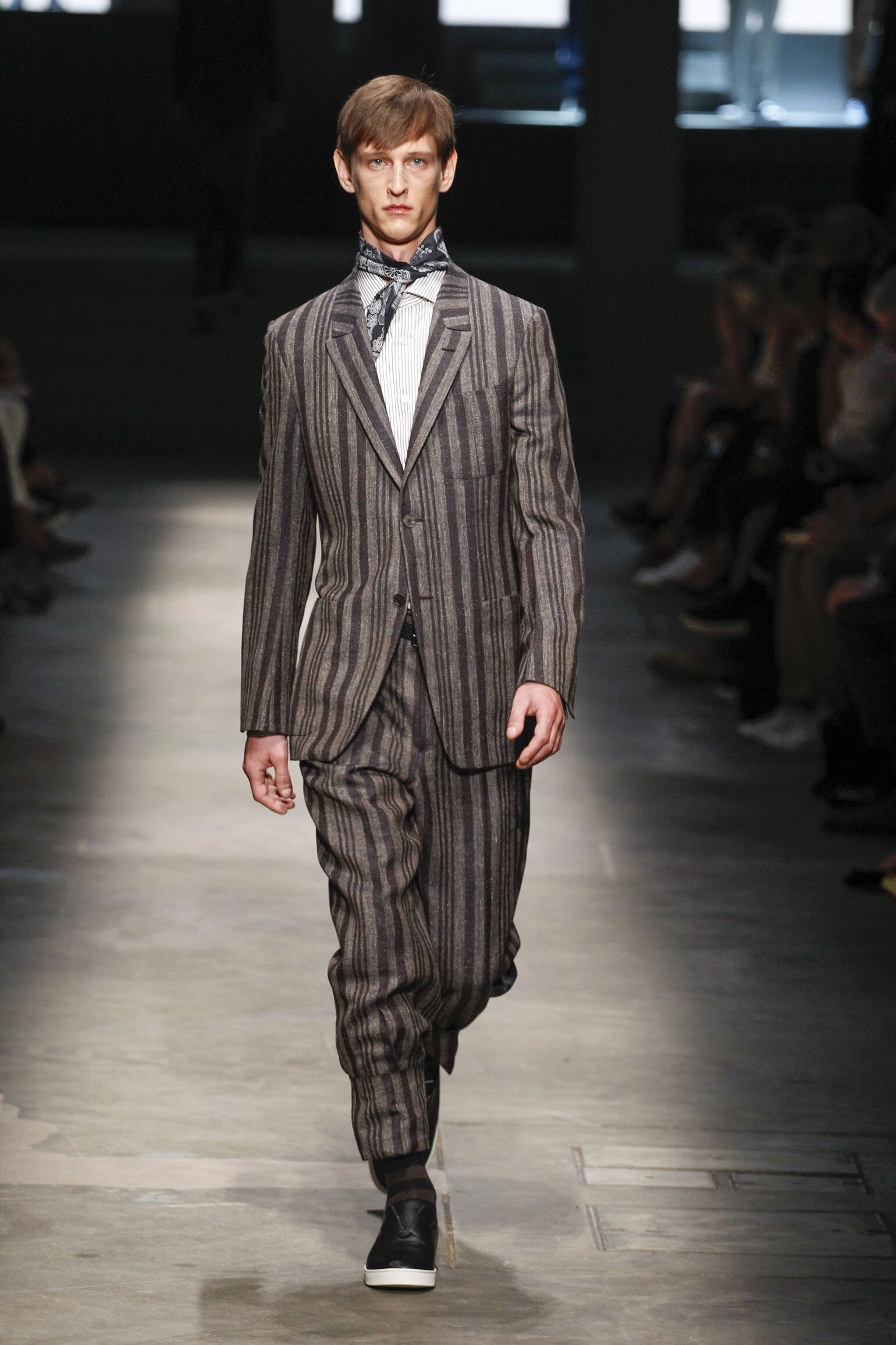 Runway Ermenegildo Zegna Couture Spring Summer 2015 Men's Collection Milan Fashion Week