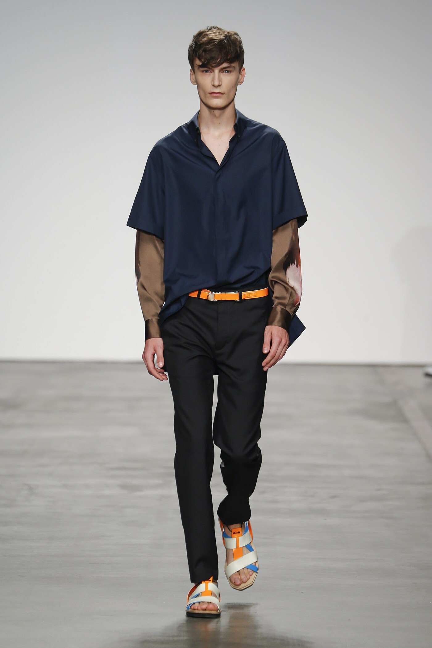 Runway Iceberg Spring Summer 2015 Men's Collection Milan Fashion Week