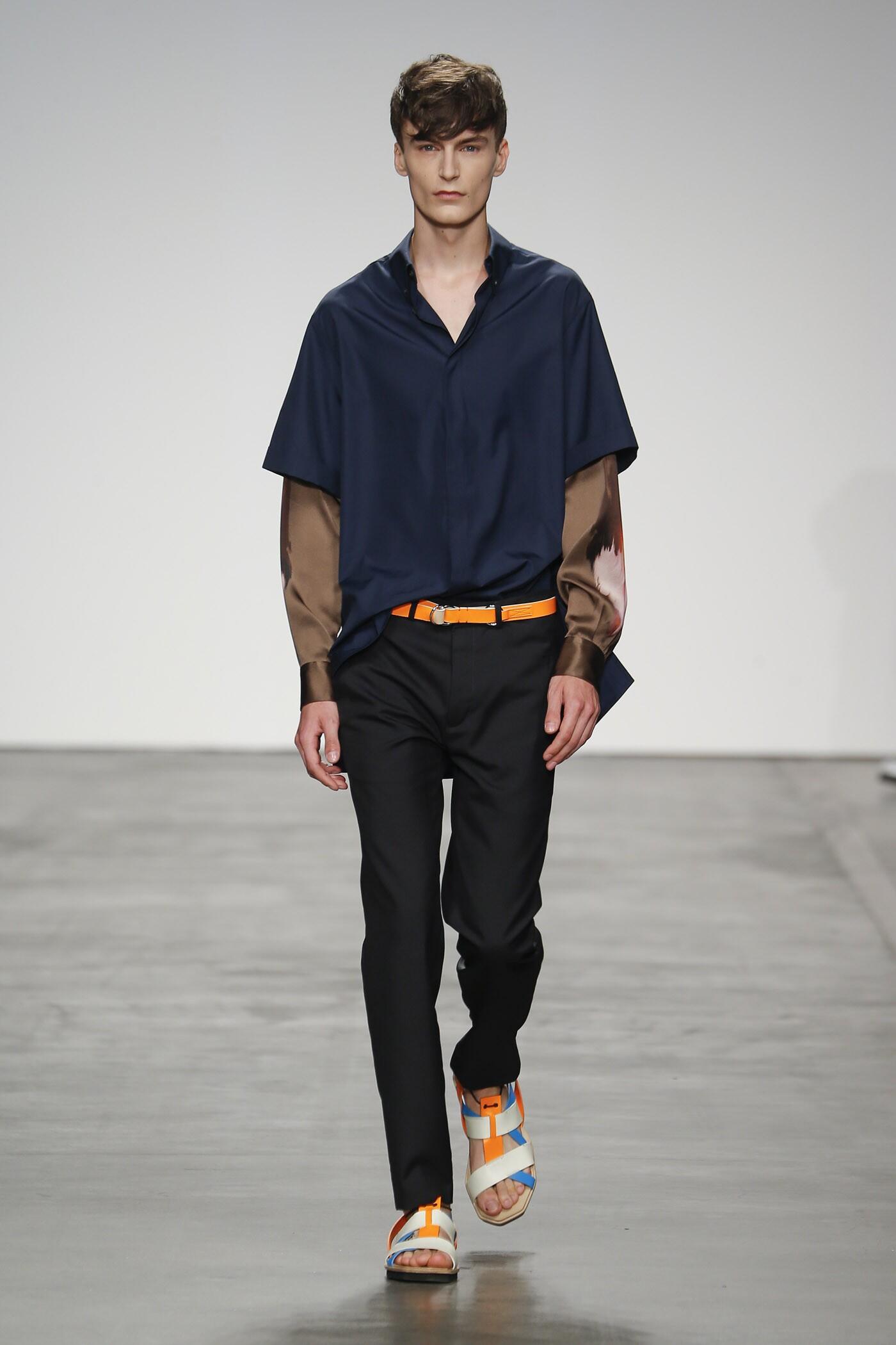 Runway Iceberg Spring Summer 2015 Men's Collection Milan Fashion Week