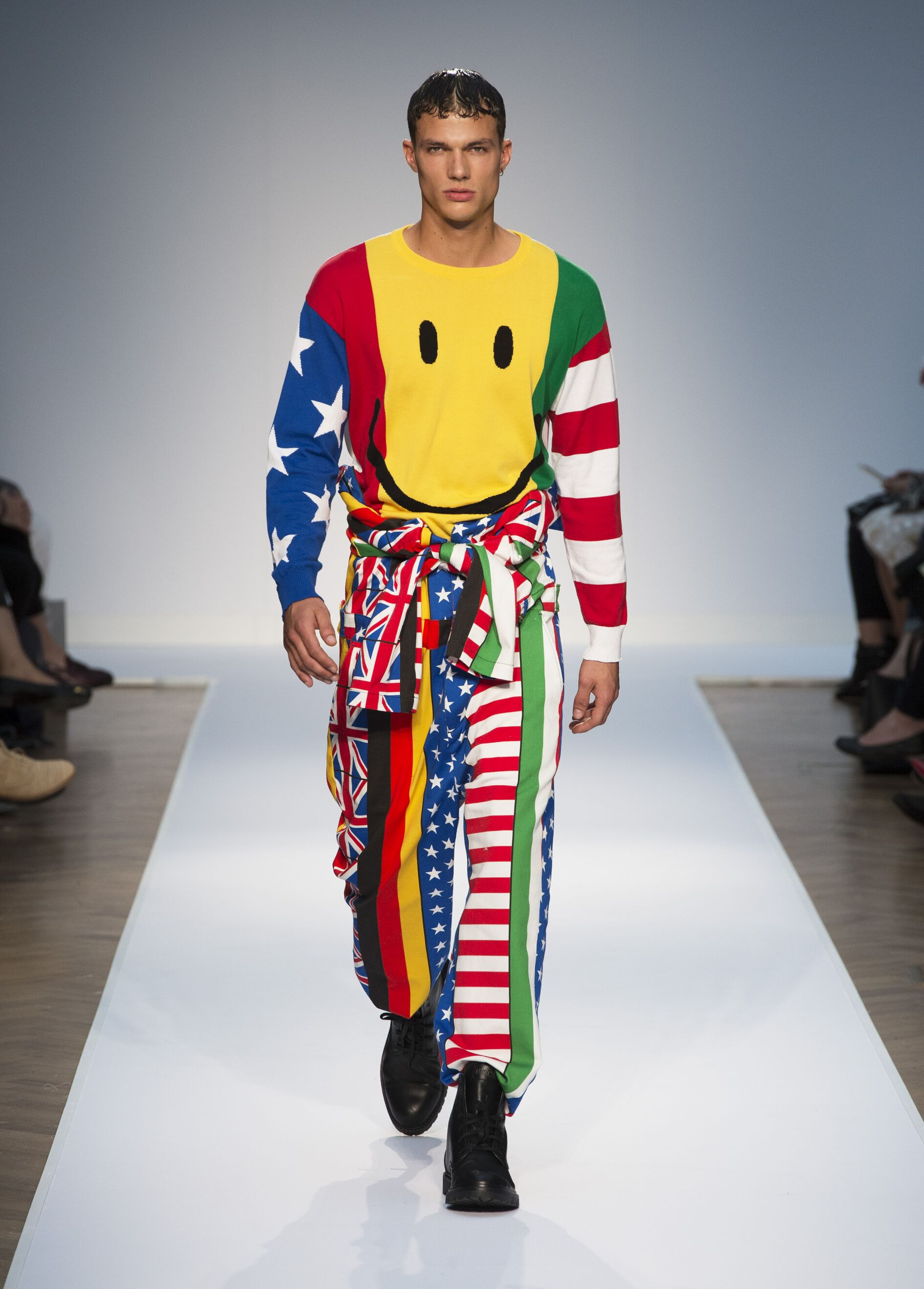 Runway Moschino Spring Summer 2015 Men's Collection London Fashion Week