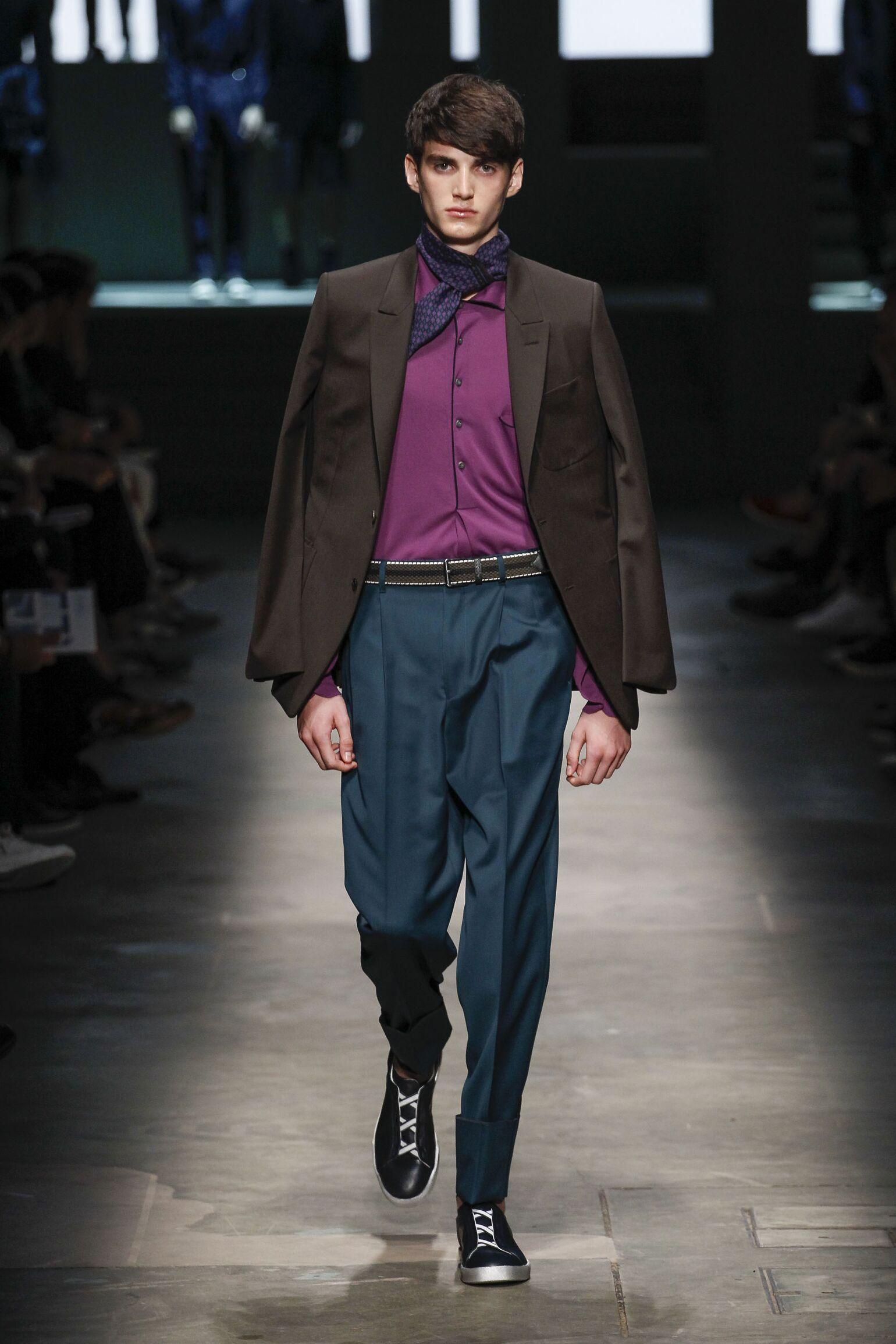 SS 2015 Ermenegildo Zegna Couture Fashion Show