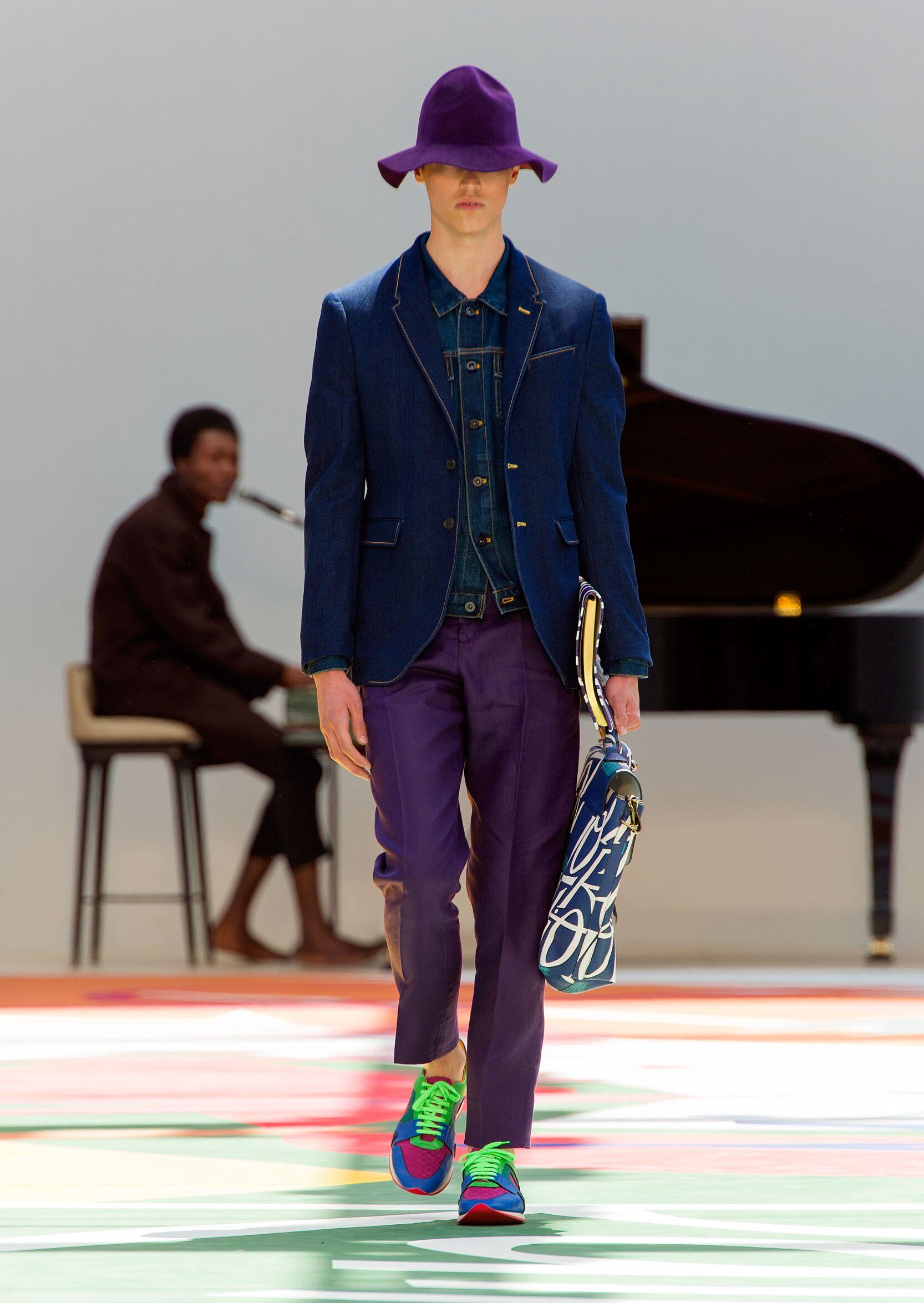 Spring 2015 Fashion Trends Burberry Prorsum