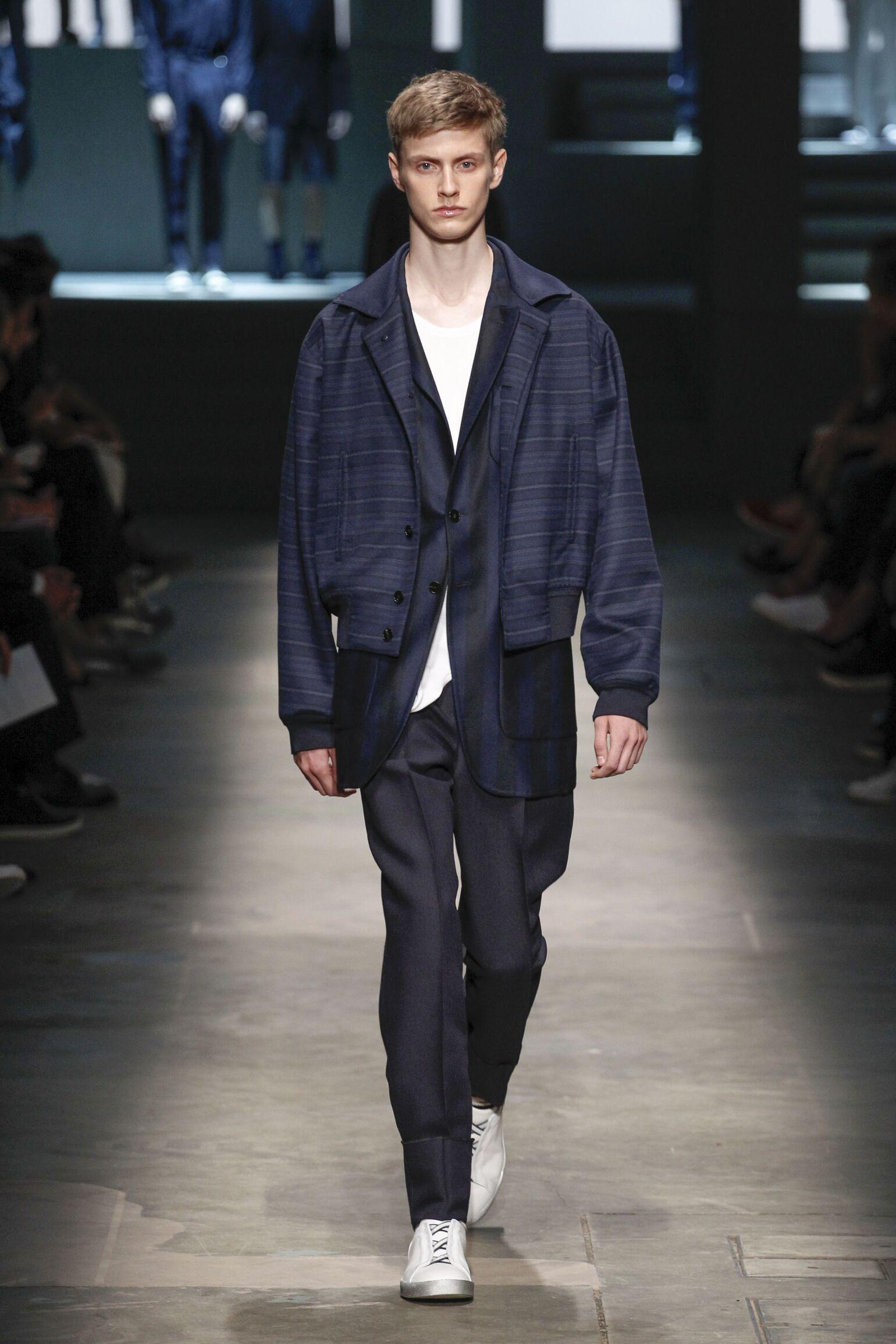 Spring 2015 Man Fashion Show Ermenegildo Zegna Couture