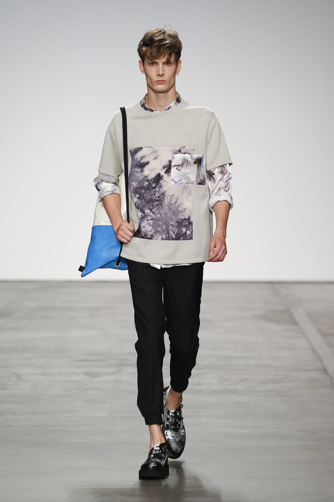 Spring 2015 Man Fashion Show Iceberg