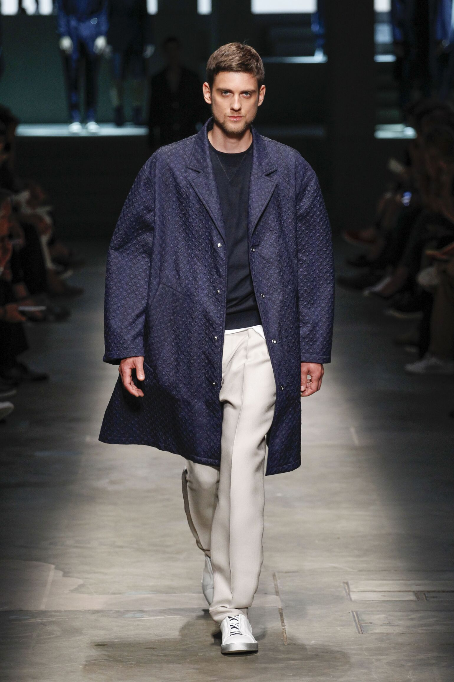 Spring Fashion 2015 Ermenegildo Zegna Couture