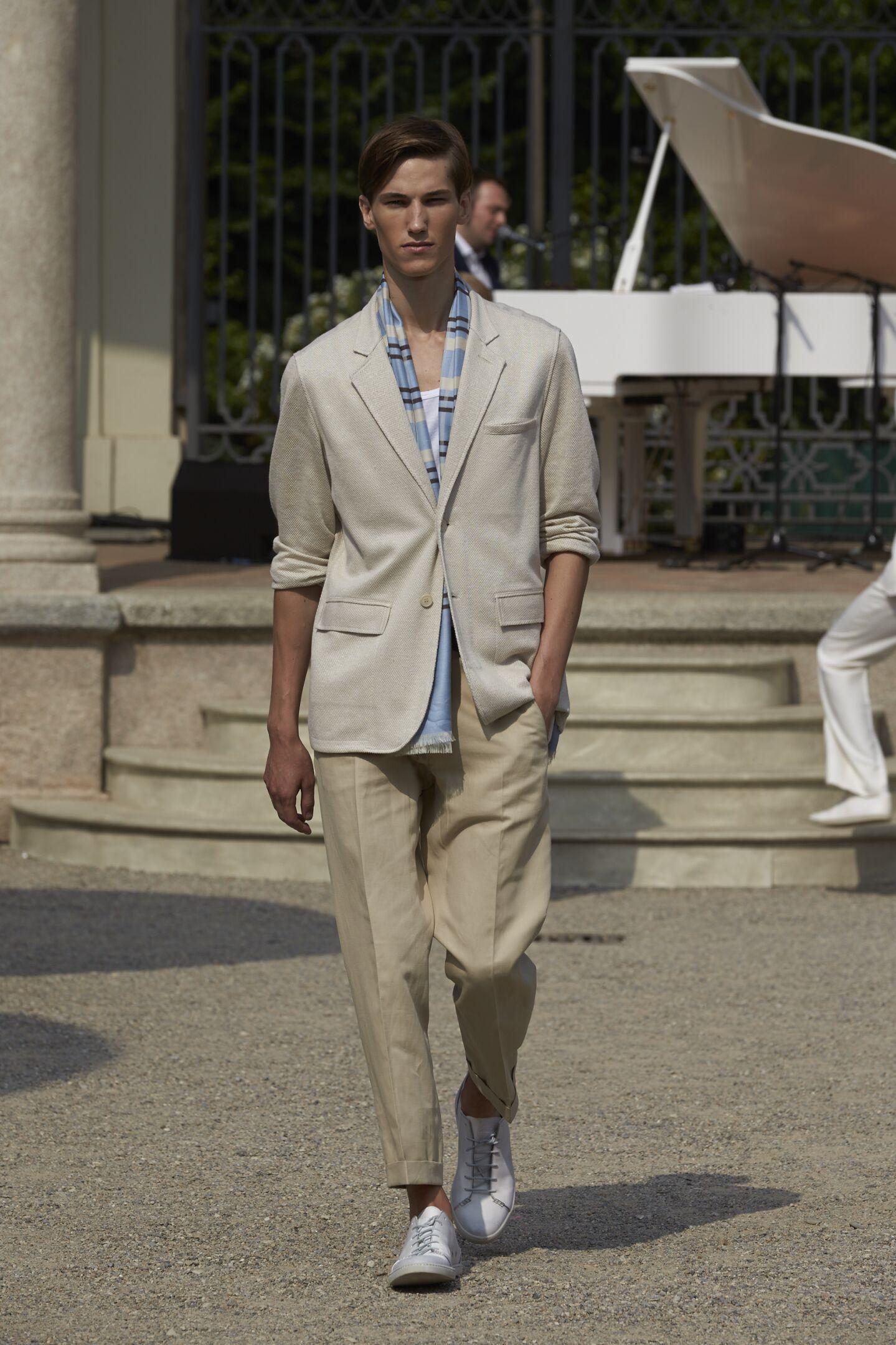 Spring Summer 2015 Fashion Model Corneliani