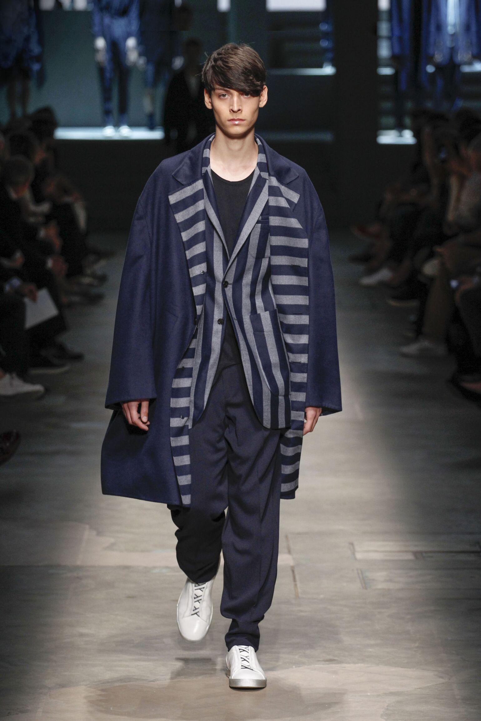 Spring Summer 2015 Fashion Model Ermenegildo Zegna Couture